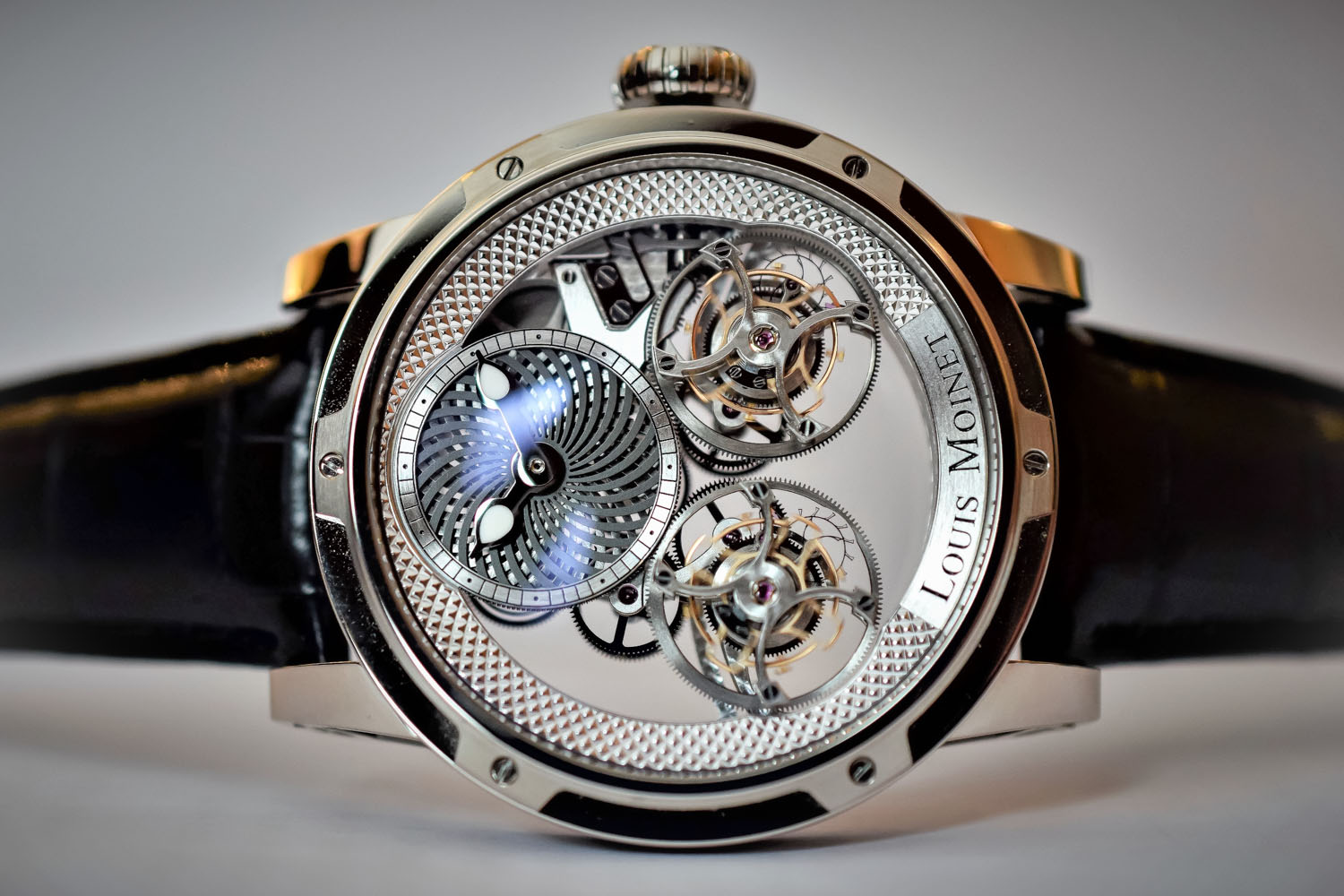 Louis Moinet Mobilis double tourbillon