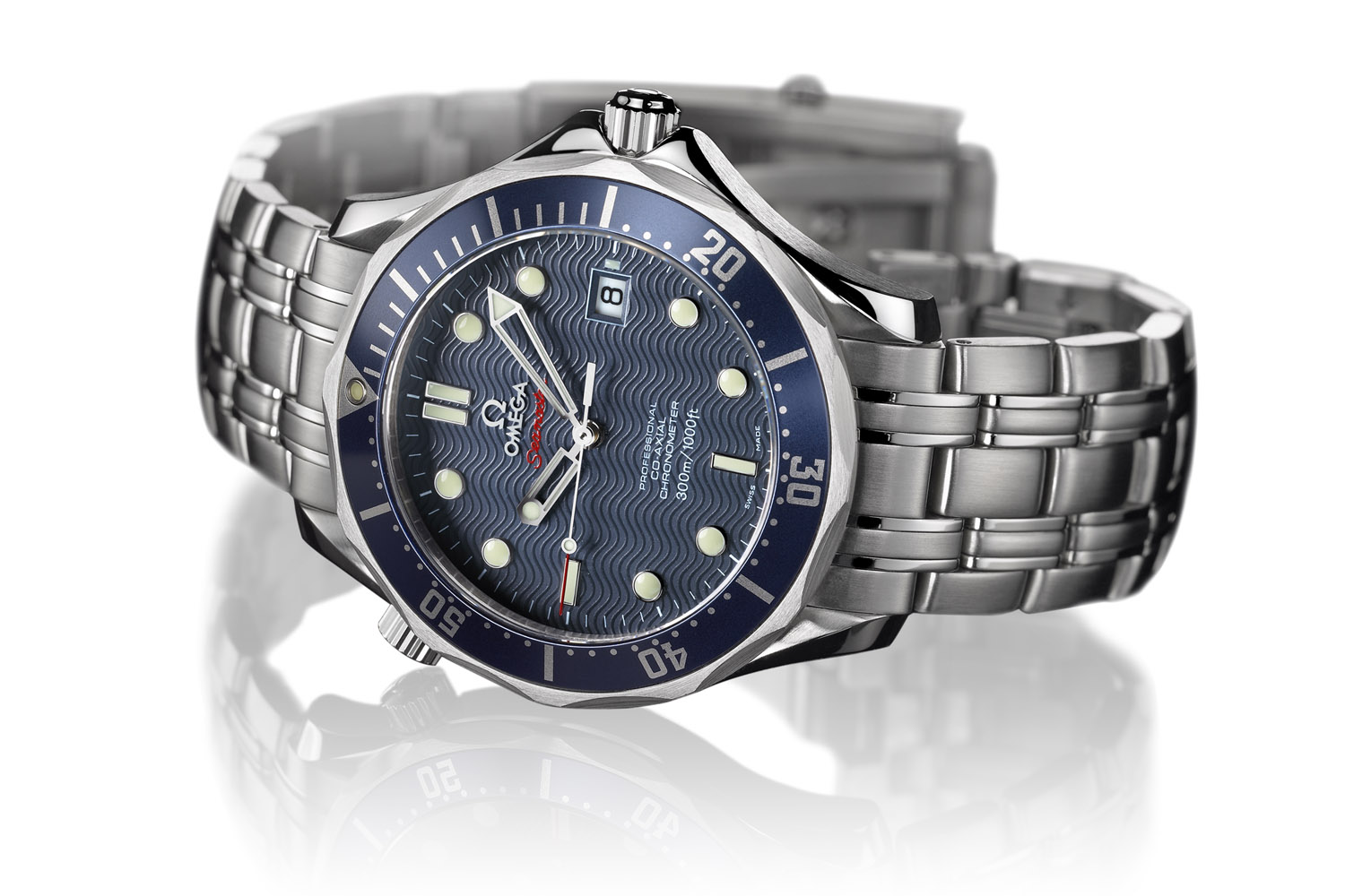 Omega Seamaster Diver 300m Co-Axial 41mm 007 Casino Royal