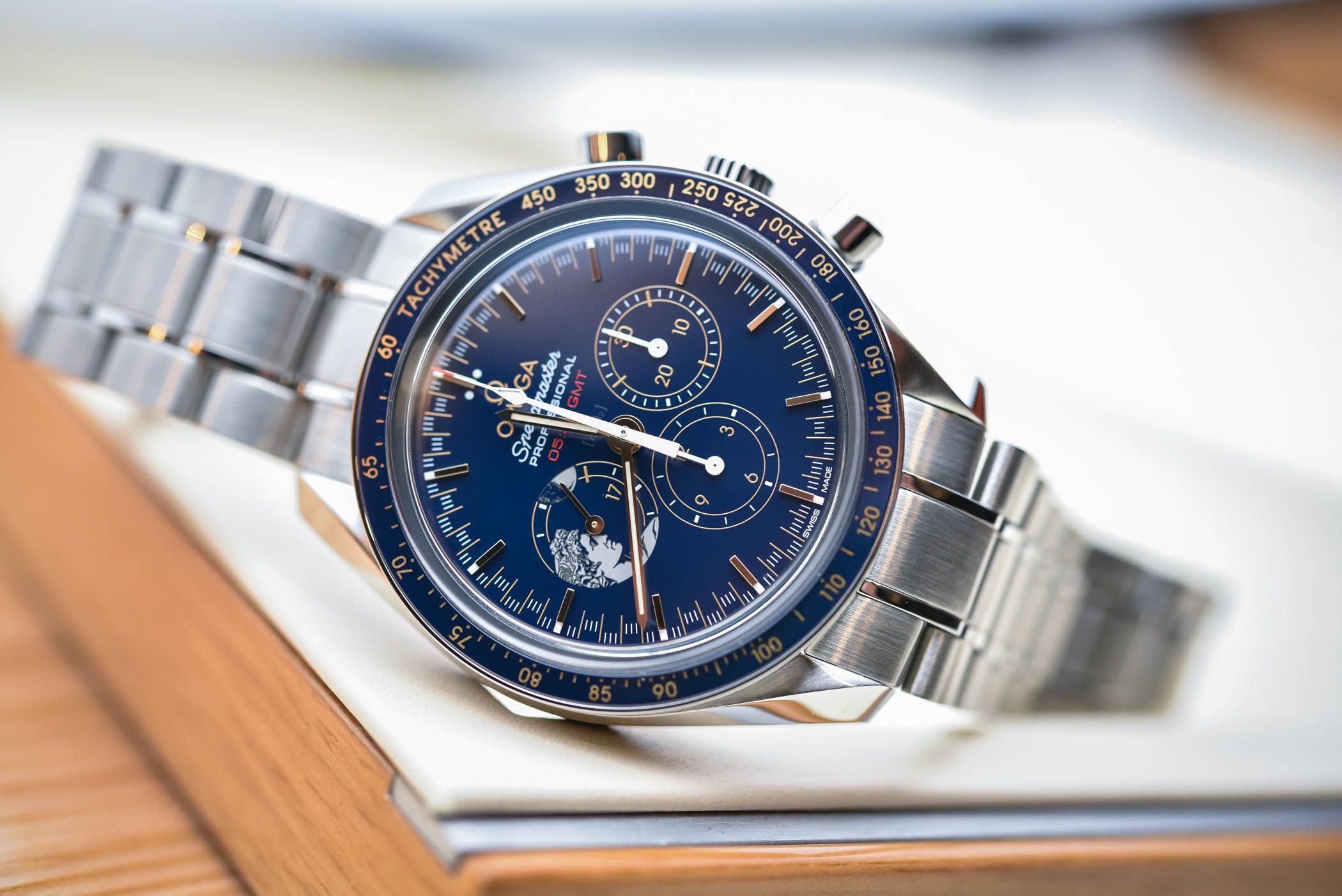 Omega Speedmaster Apollo 17 45th anniversary 'Tribute to Gene Cernan'