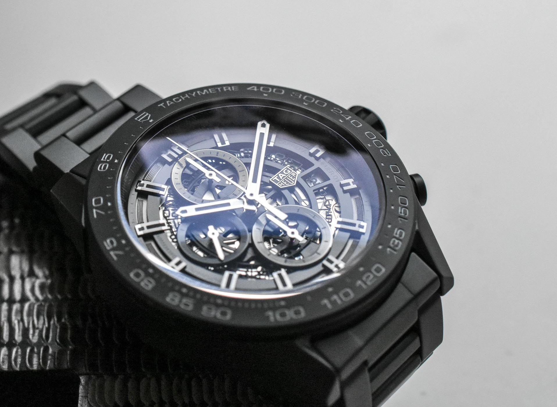 475a36a15 Tag Heuer Carrera Heuer-01 Full Black Matt Ceramic - 5 - Monochrome ...
