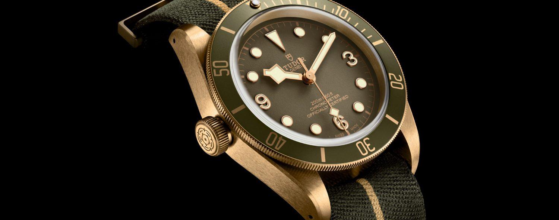 Tudor Black Bay Bronze One LHD khaki green dial - Only Watch 2017