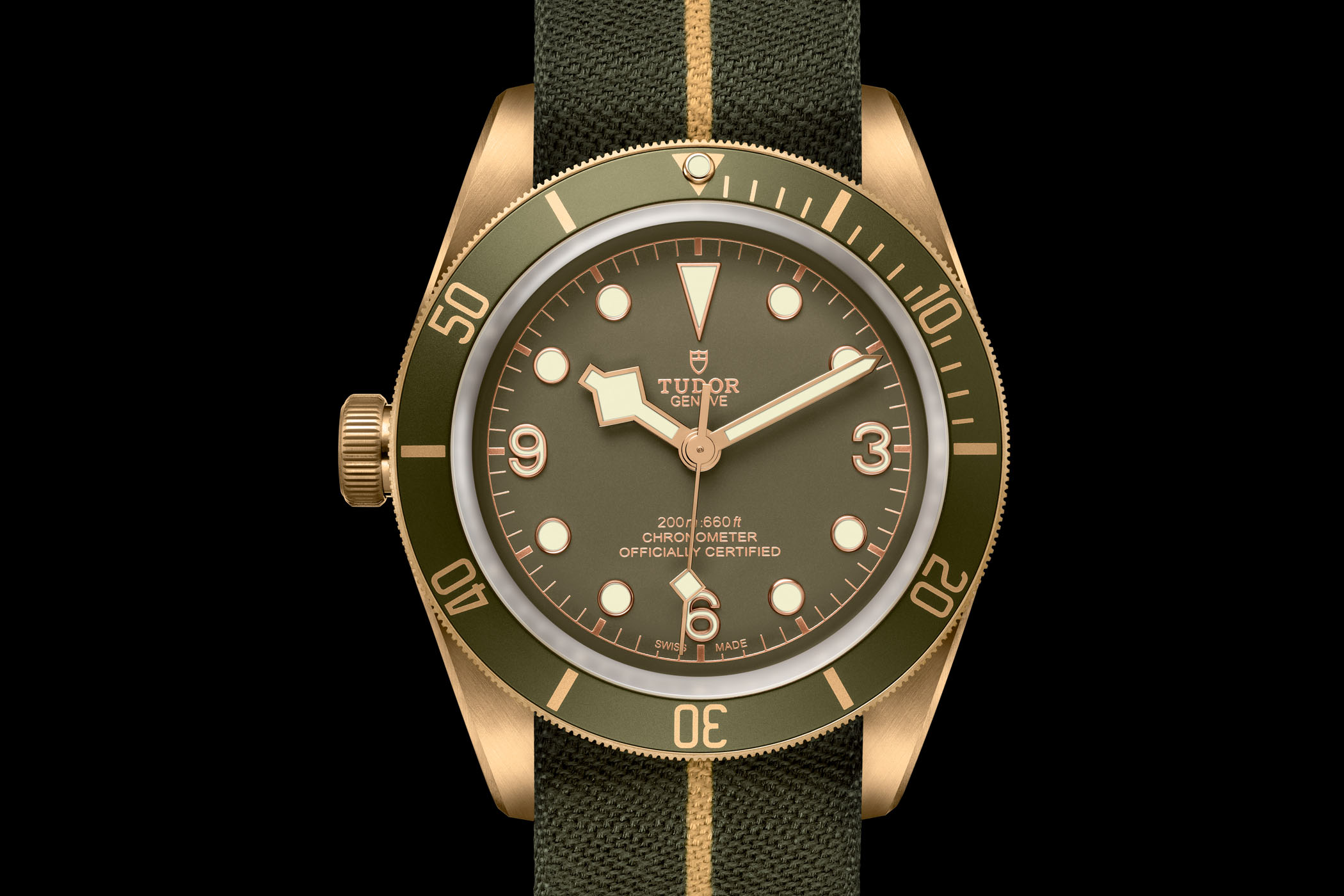 Tudor Black Bay Bronze One LHD khaki green dial - Only Watch 2017