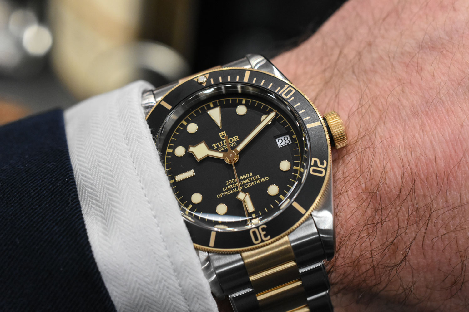 Tudor Heritage Black Bay S&G Steel-and-Gold Ref. M79733N ...
