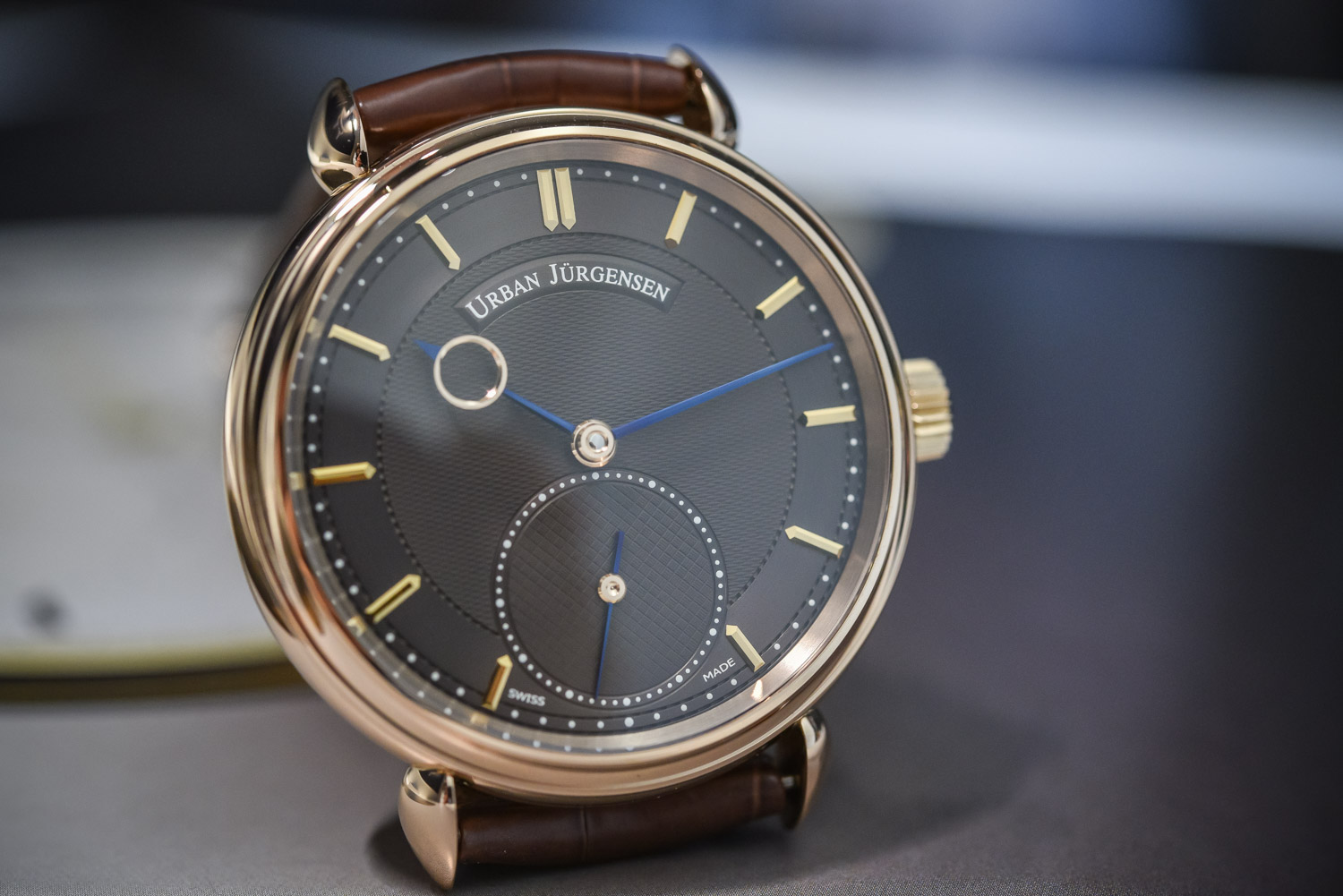urban jurgensen hand-manufactured hands
