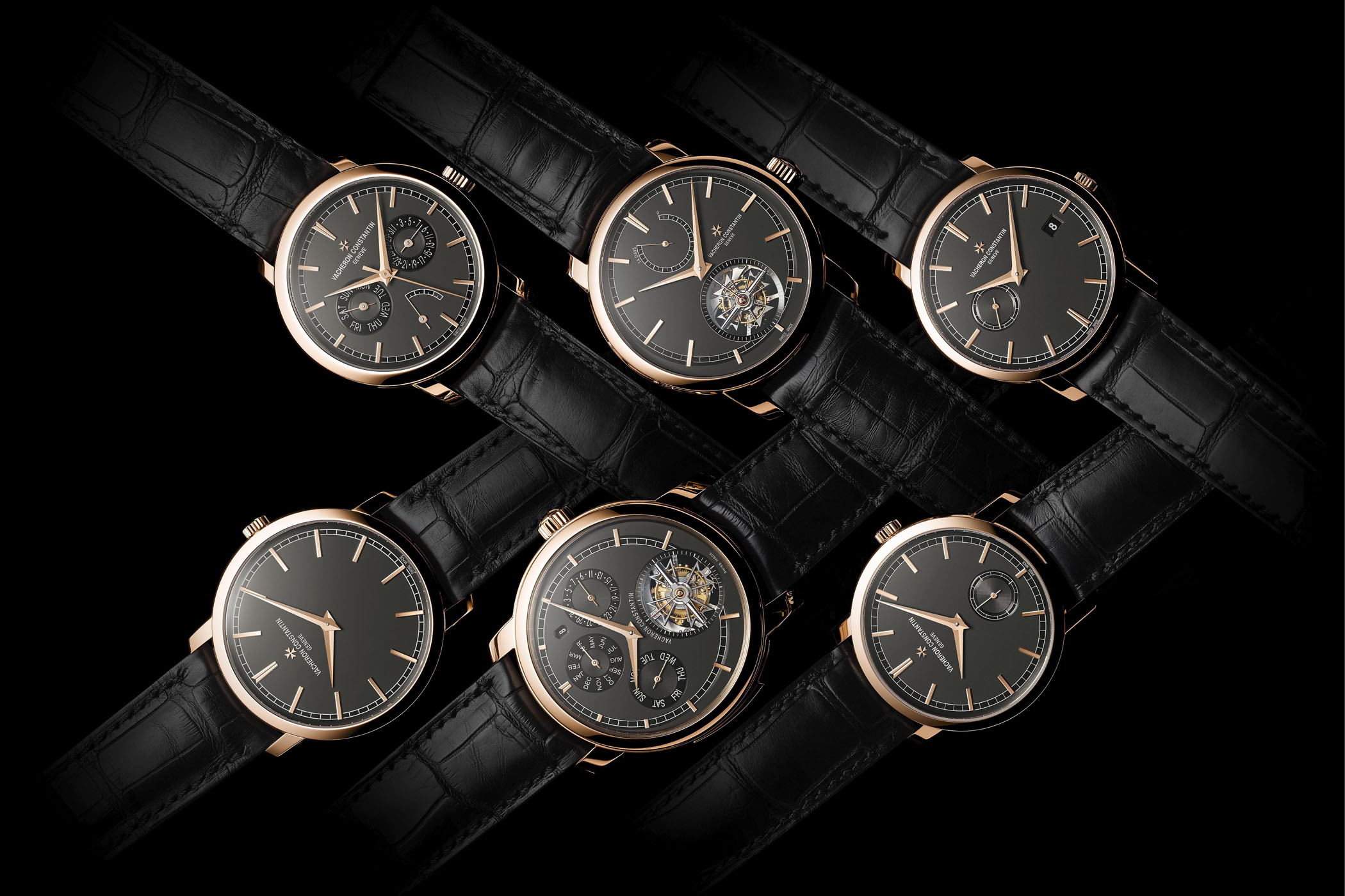 Vacheron Constantin Traditionnelle slate grey pink gold collection