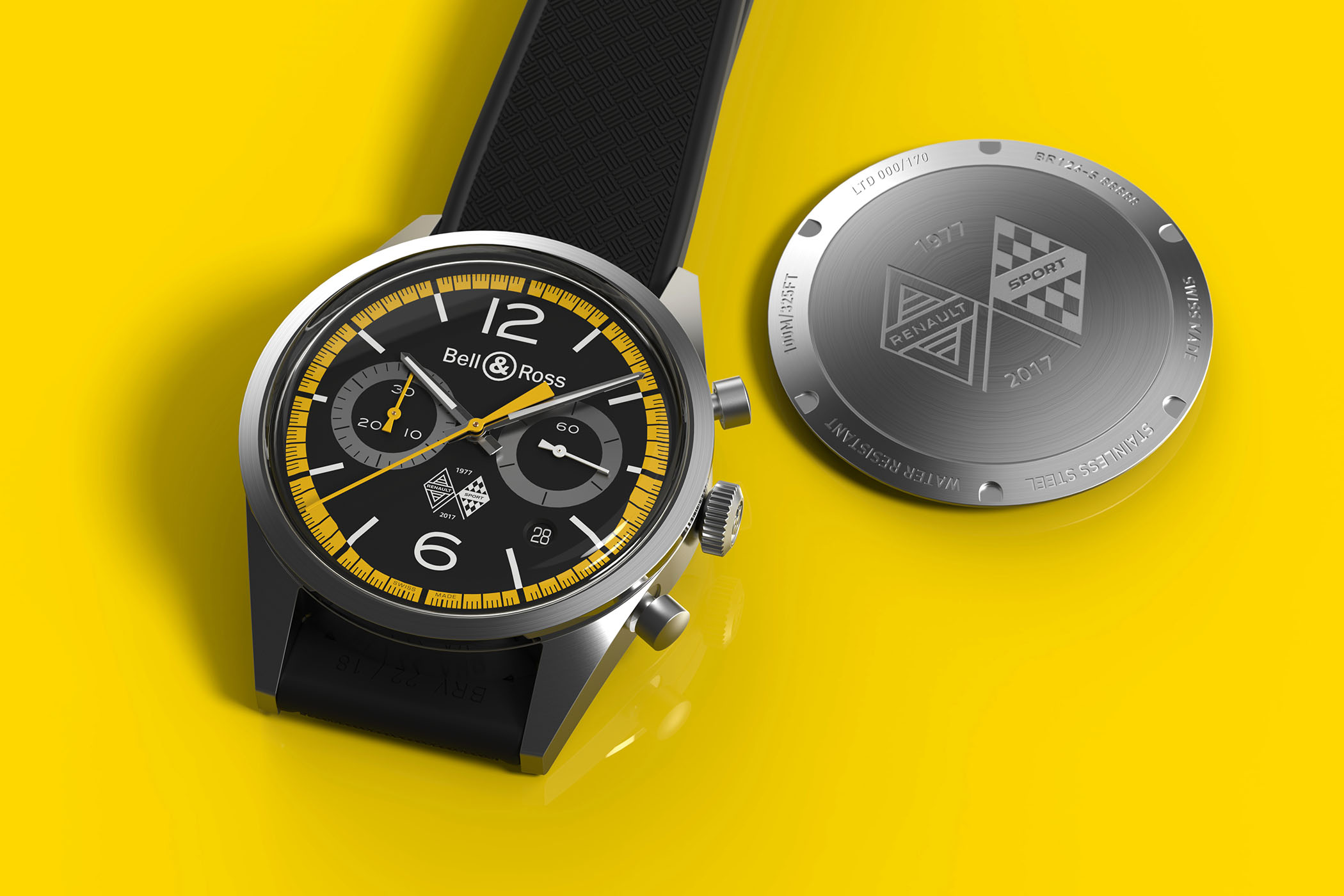 bell and ross BR126 Renault Sport 40th Anniversary