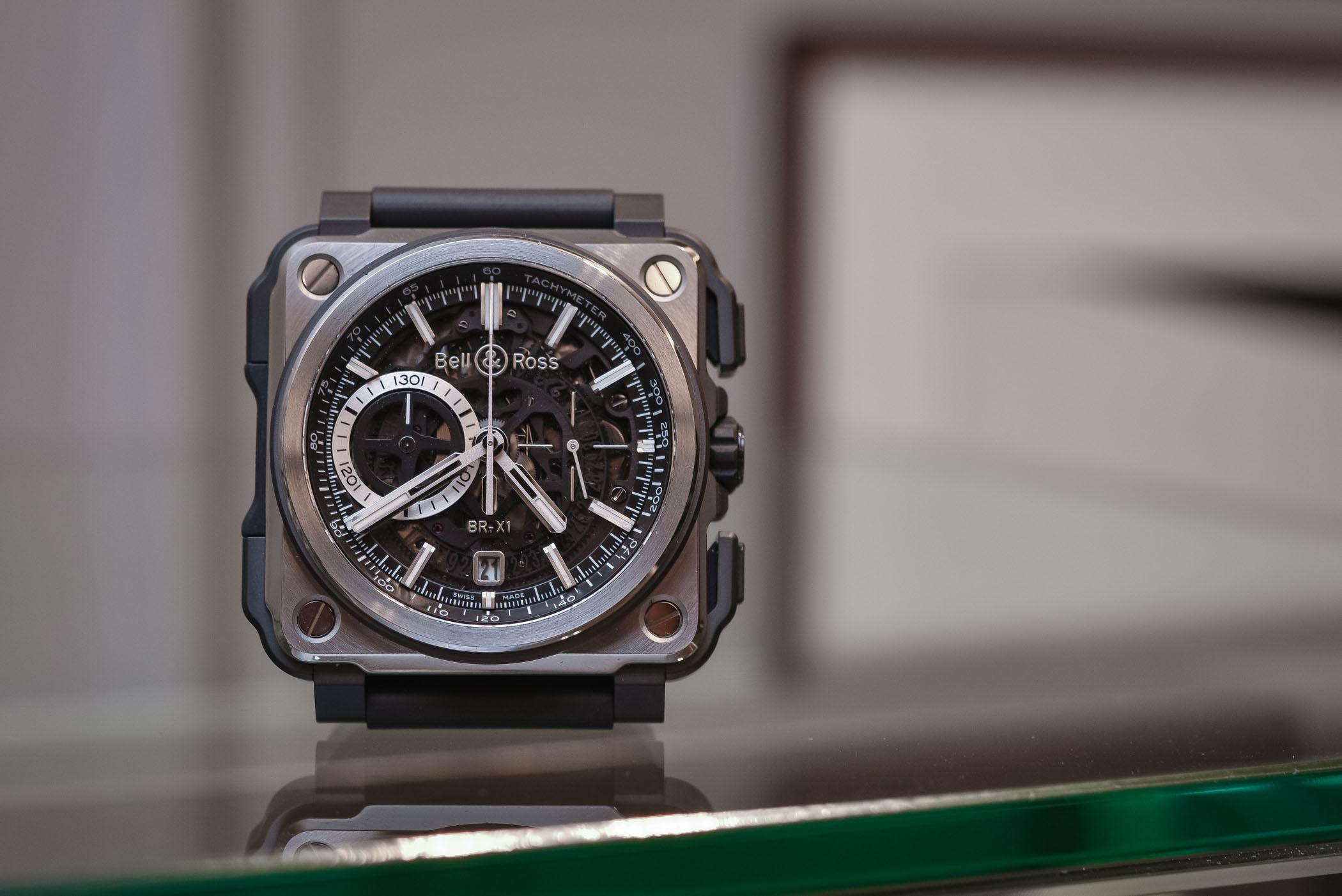 Bell & Ross BR-X1 Black Titanium Chronograph