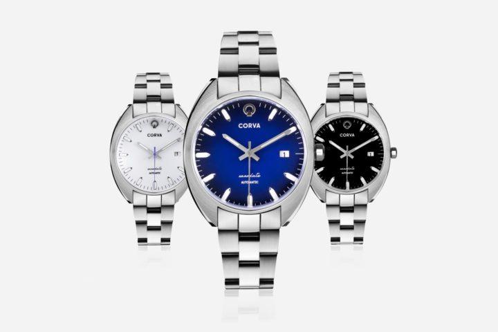 Corva Watches Saxodate - Kickstarter