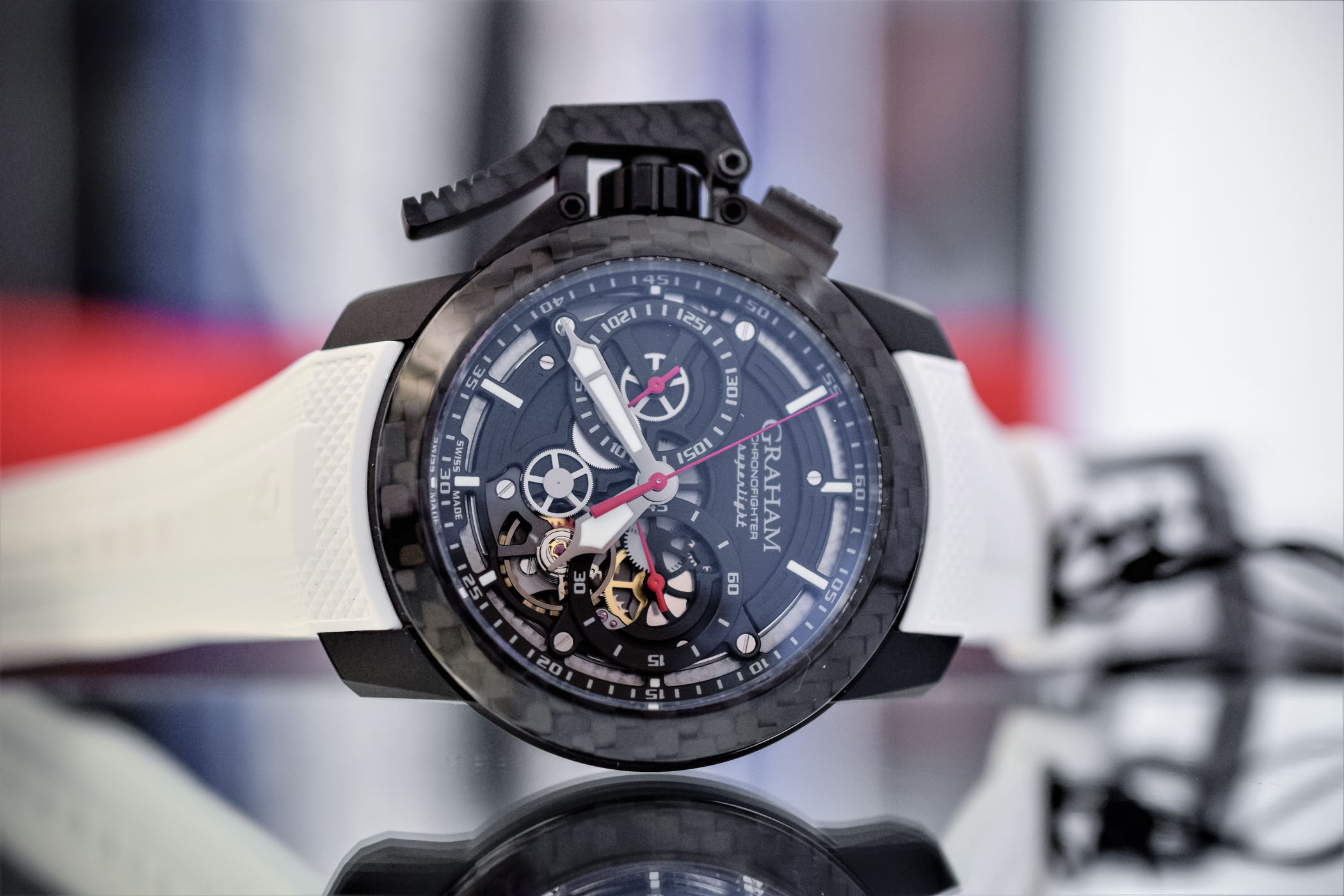 Graham Chronofighter Superlight Skeleton