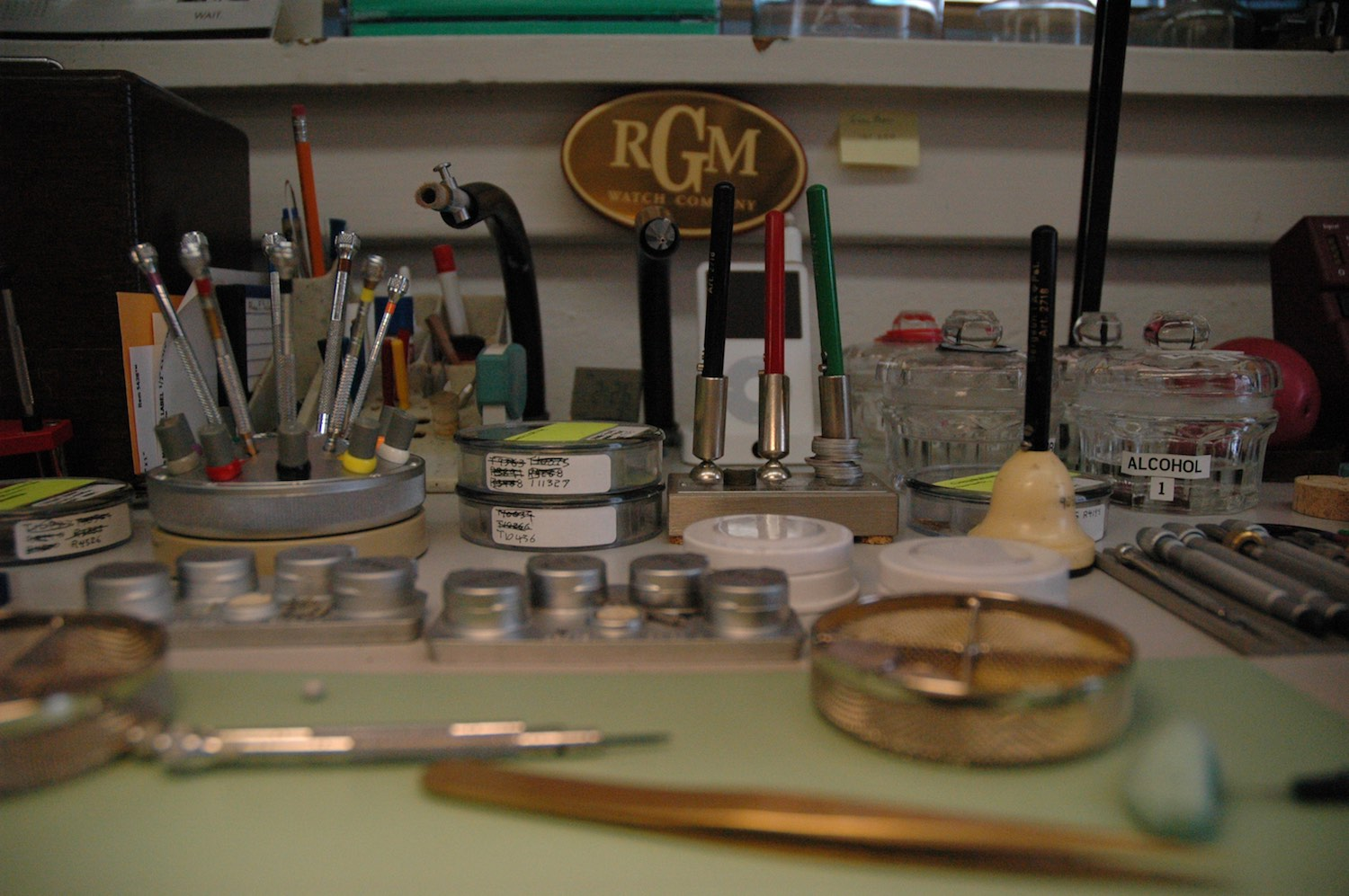 RGM American watches 25th anniversary - invitation manufacture