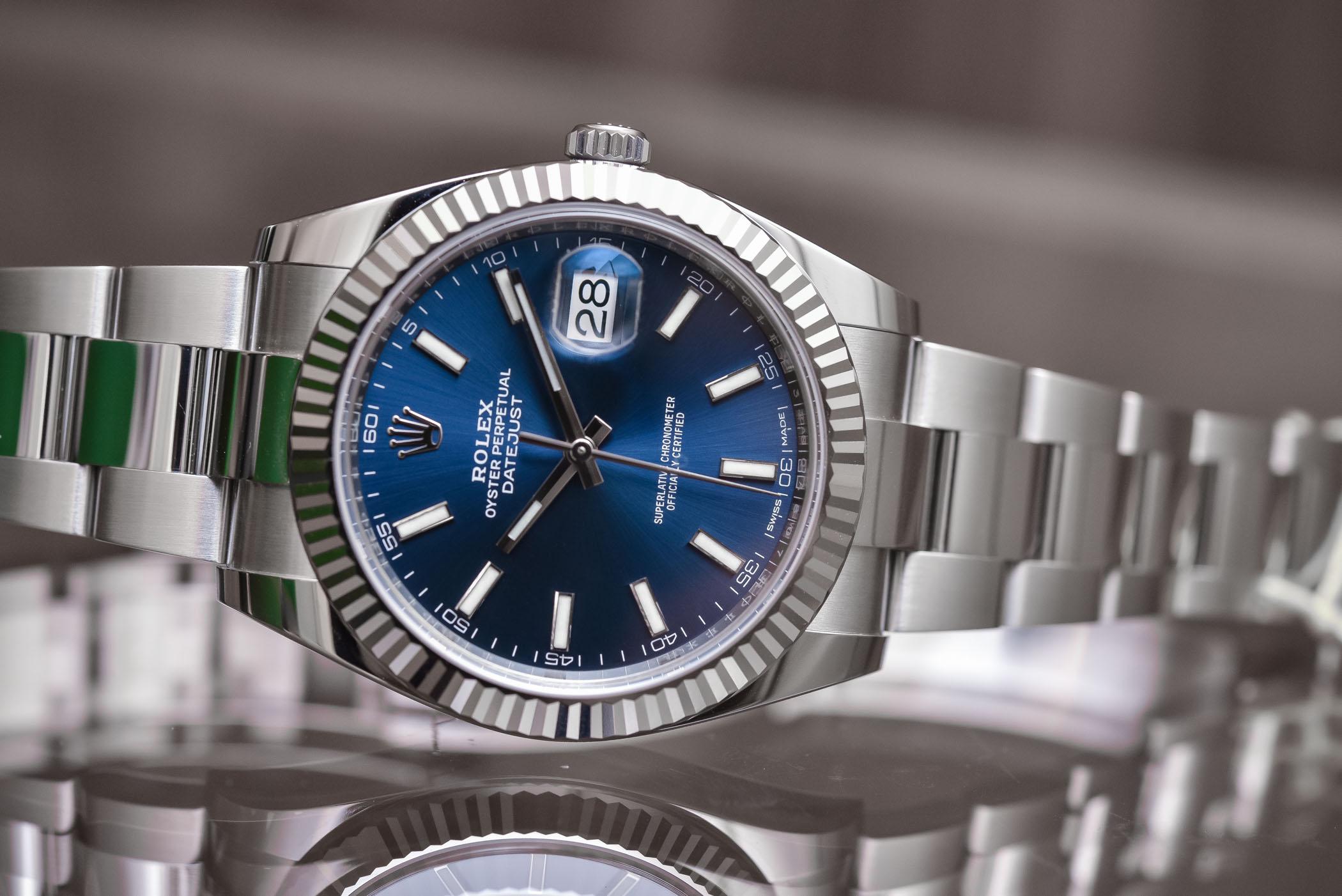 Rolex Datejust 41 Jubilee Blue