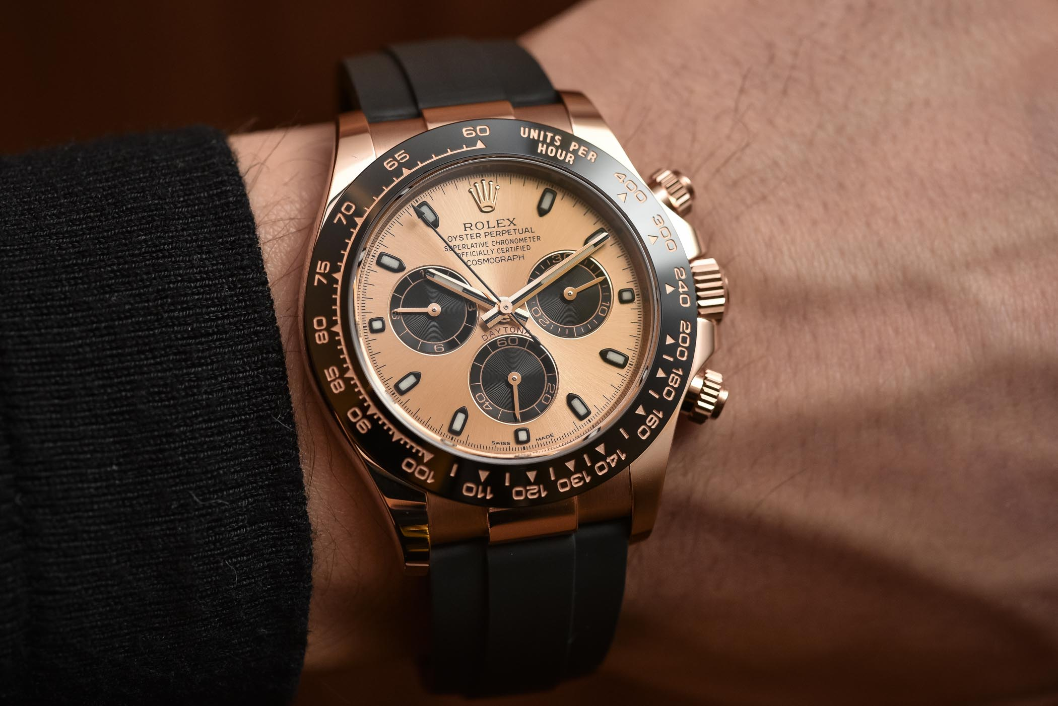 Up Close Amp Personal The 2017 Rolex Daytona Gold