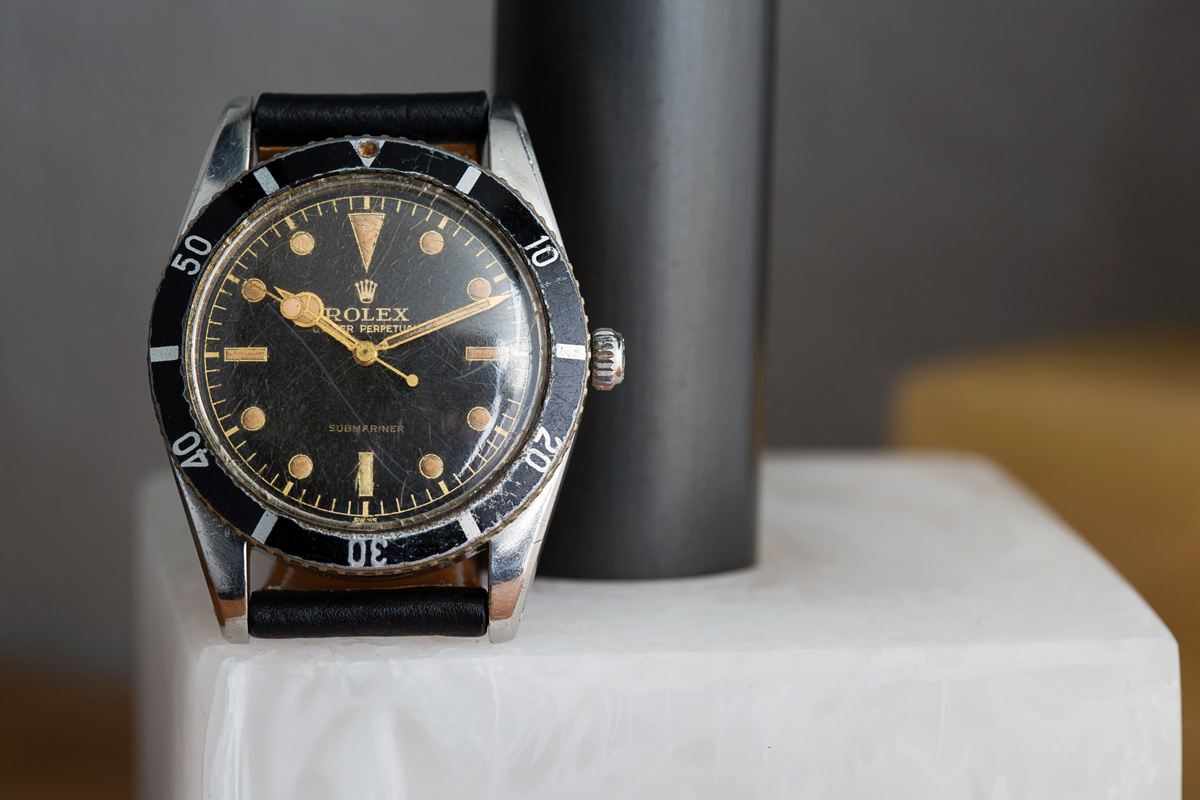 Rolex Submariner 6204 very first Submariner