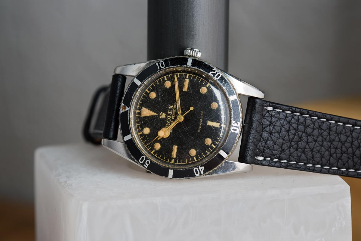 Historical Perspective – The Very First Rolex Submariner, The Reference 6204