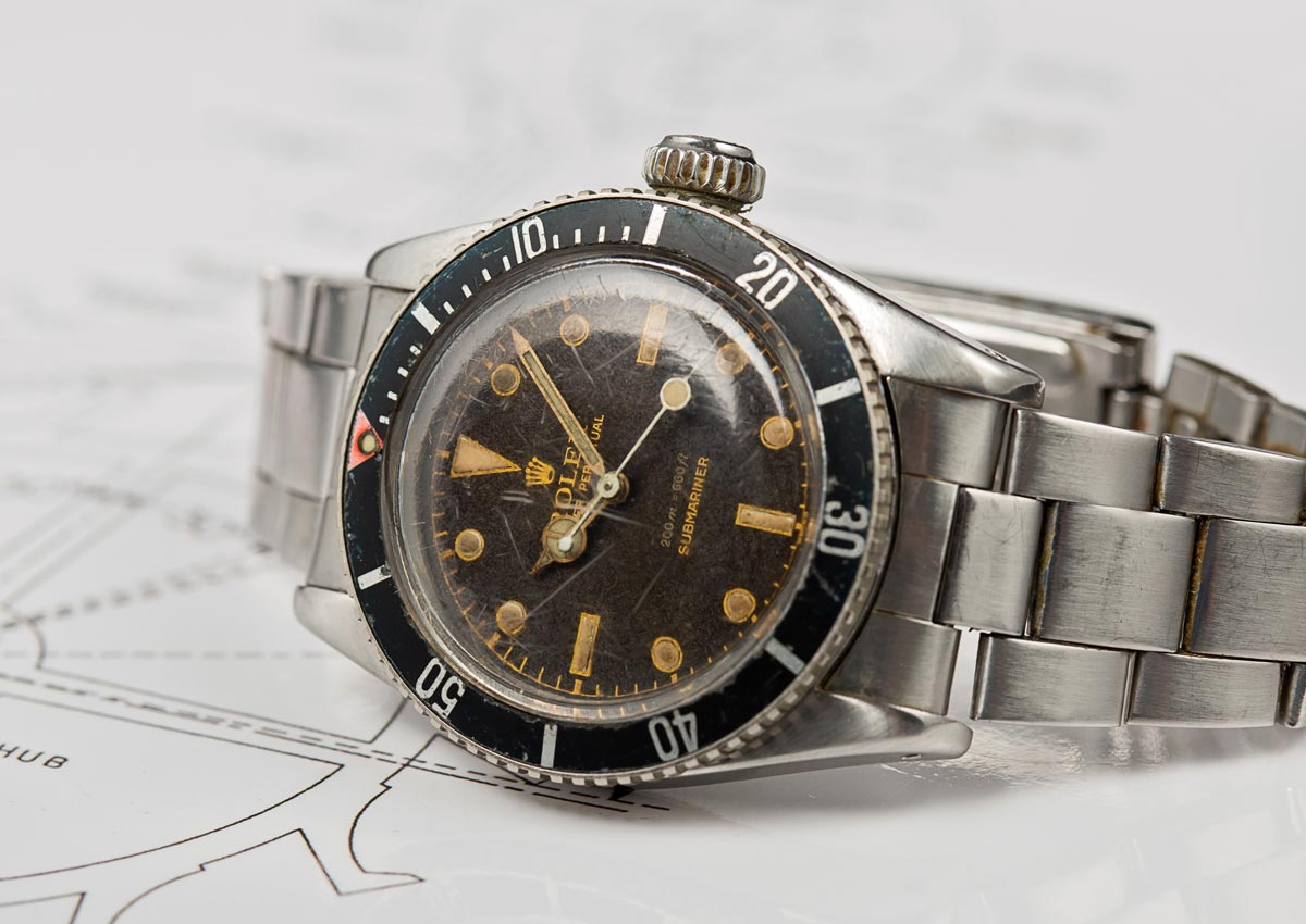 "Historical Perspective – The Original ""Bond"" Rolex Submariner, The Reference 6538 ""Big Crown"""