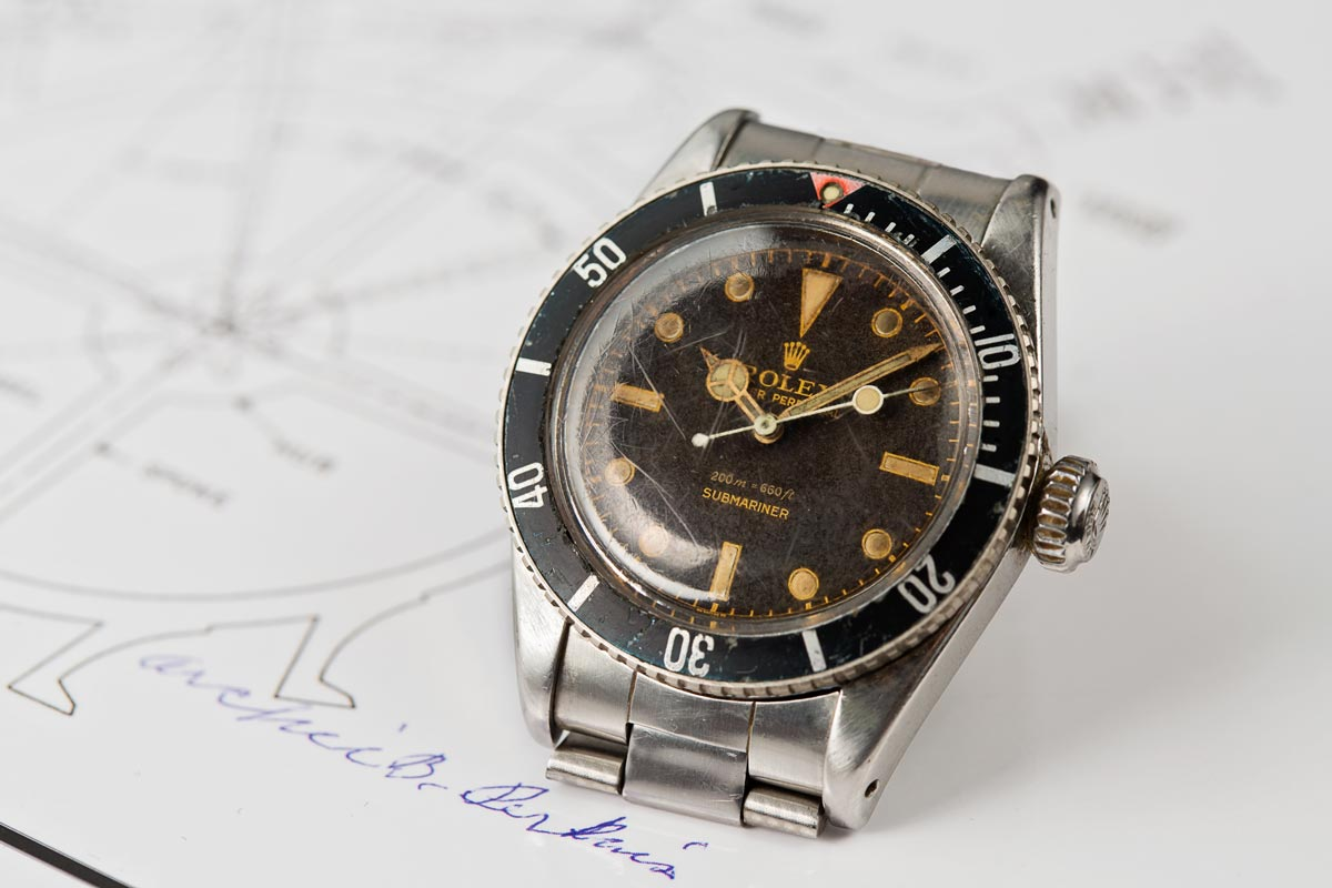 rol watches sub p gold mariner
