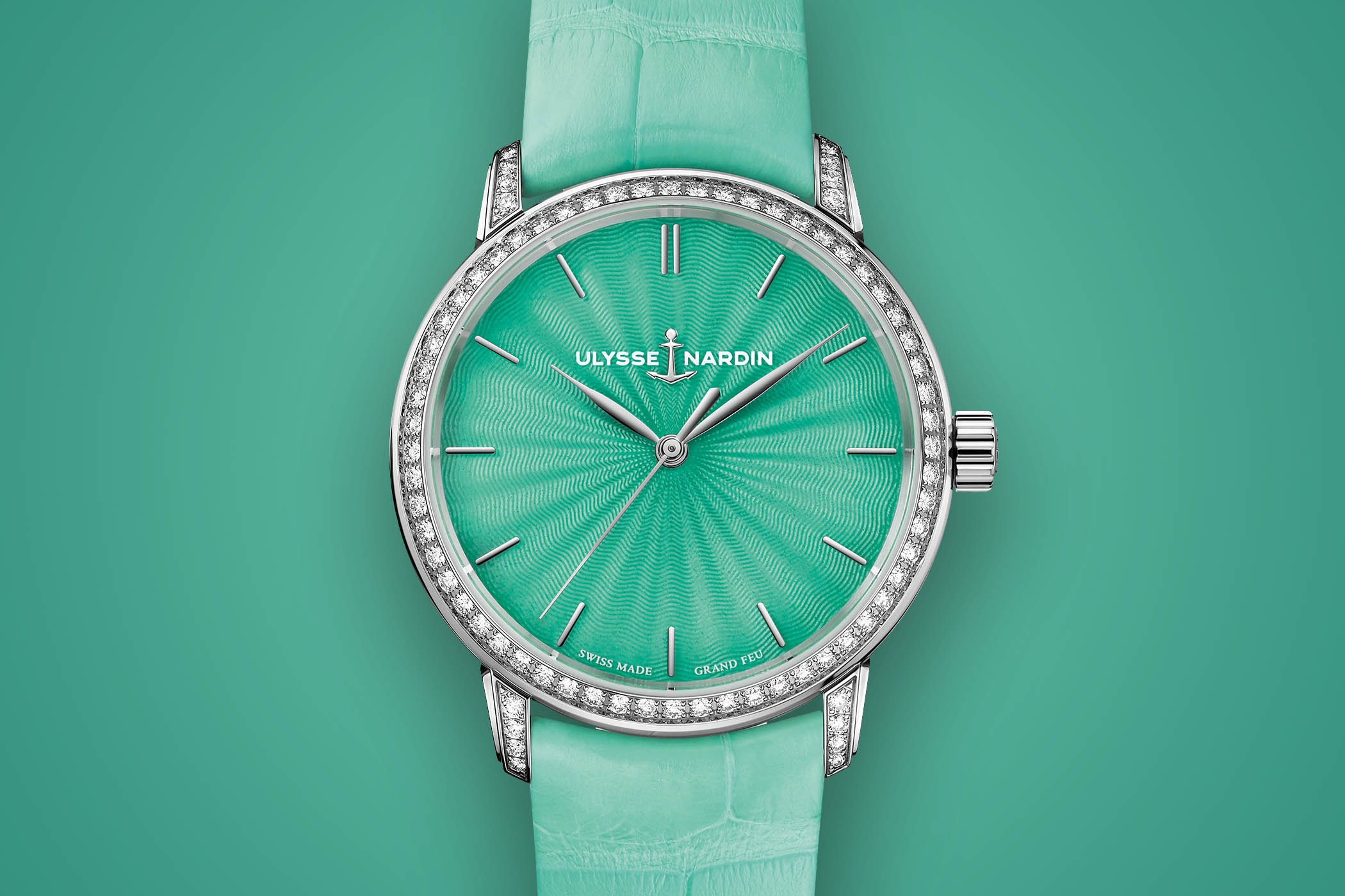 Women's Watch Wednesday – Ulysse Nardin Classico Lady Grand Feu