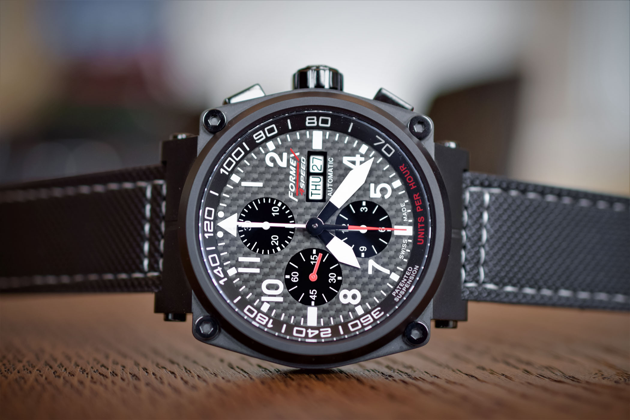 Formex AS1100 Chronograph Carbon