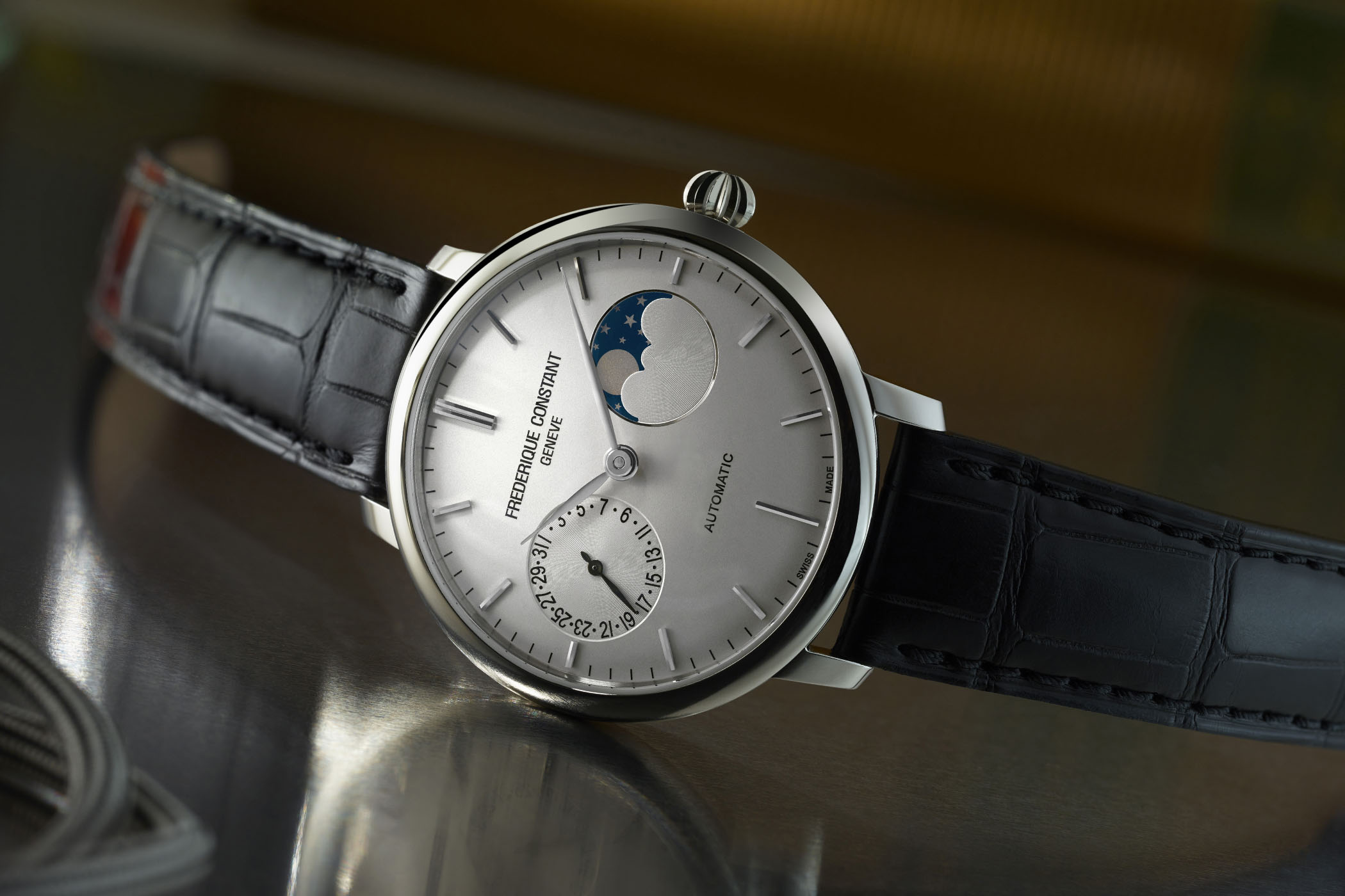 Frederique Constant Slimline Moonphase Manufacture 38.8mm 2017 version