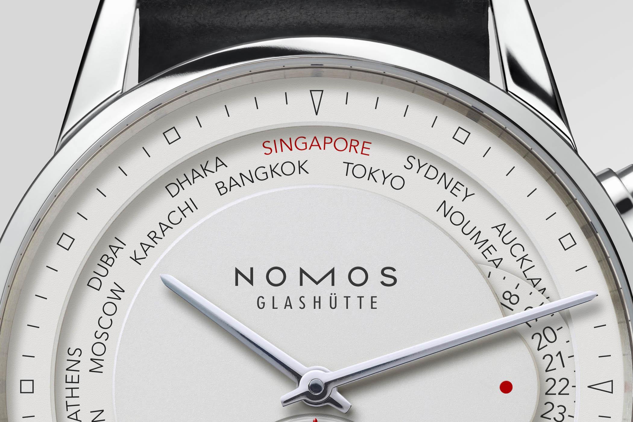 Nomos Zurich Weltzeit Limited Edition Singapore