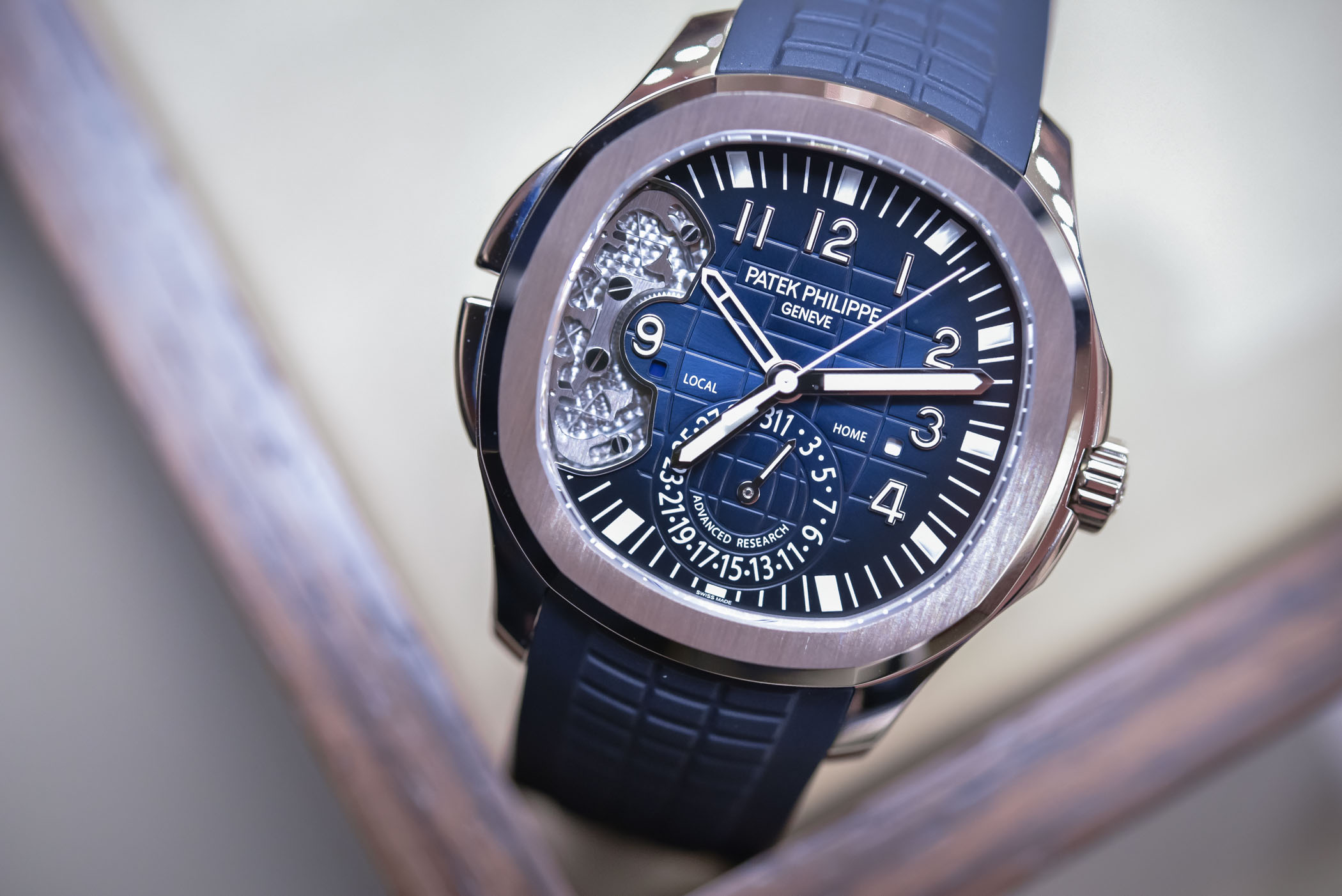 Patek Philippe Aquanaut Travel Time Ref. 5650G Advanced Research