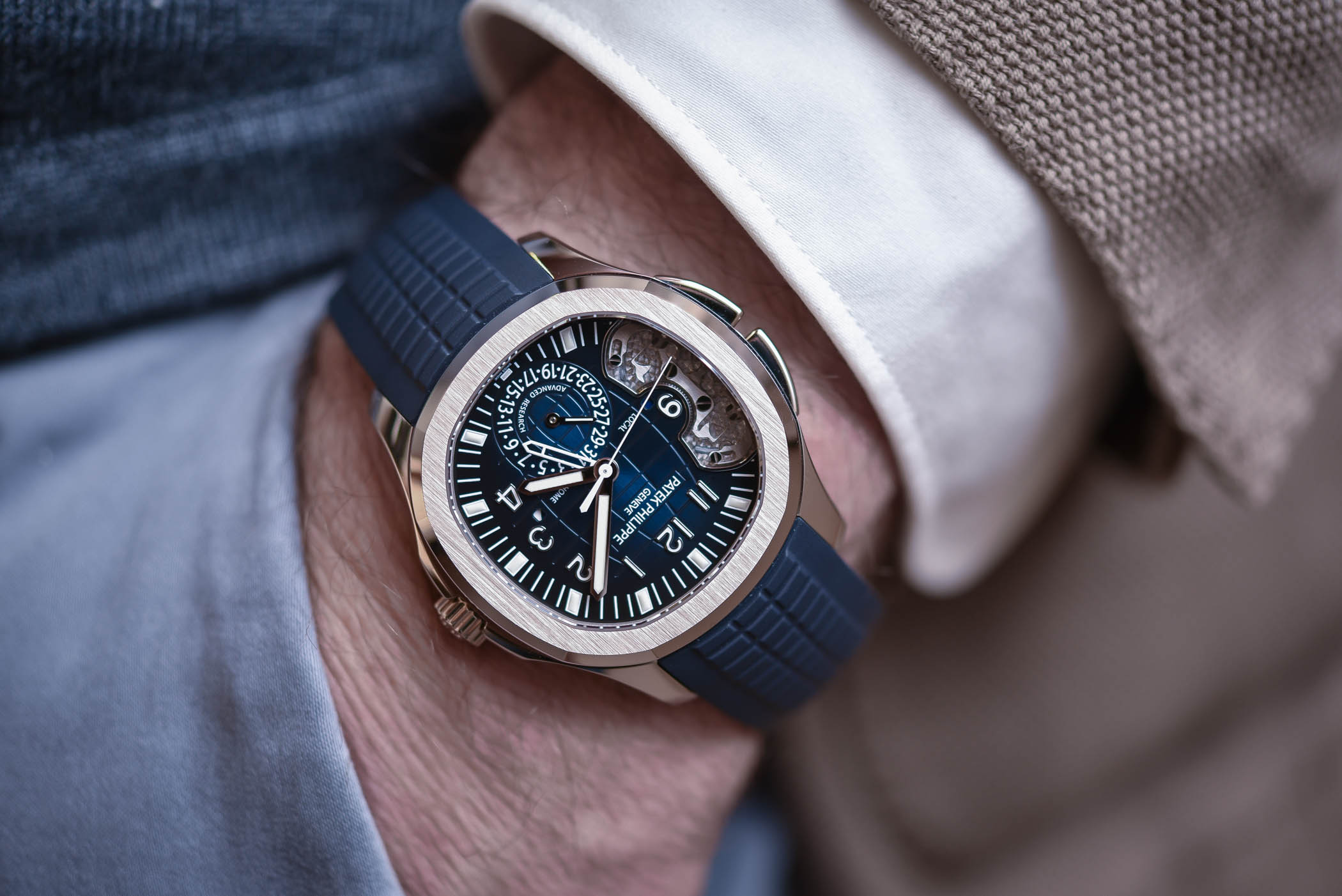 Review – Patek Philippe Advanced Research Aquanaut Travel Time Ref. 5650G (And History of the Advanced Research Program)