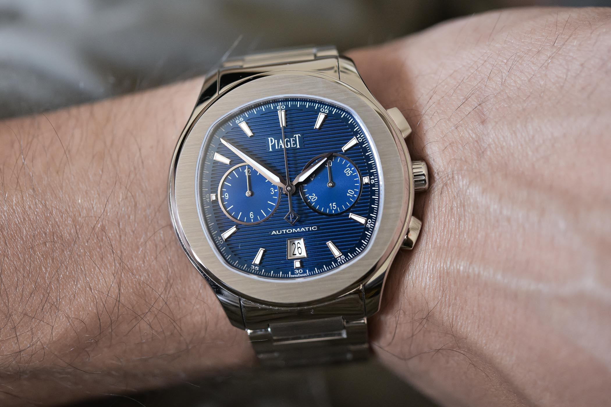 Review – Piaget Polo S Chronograph Steel