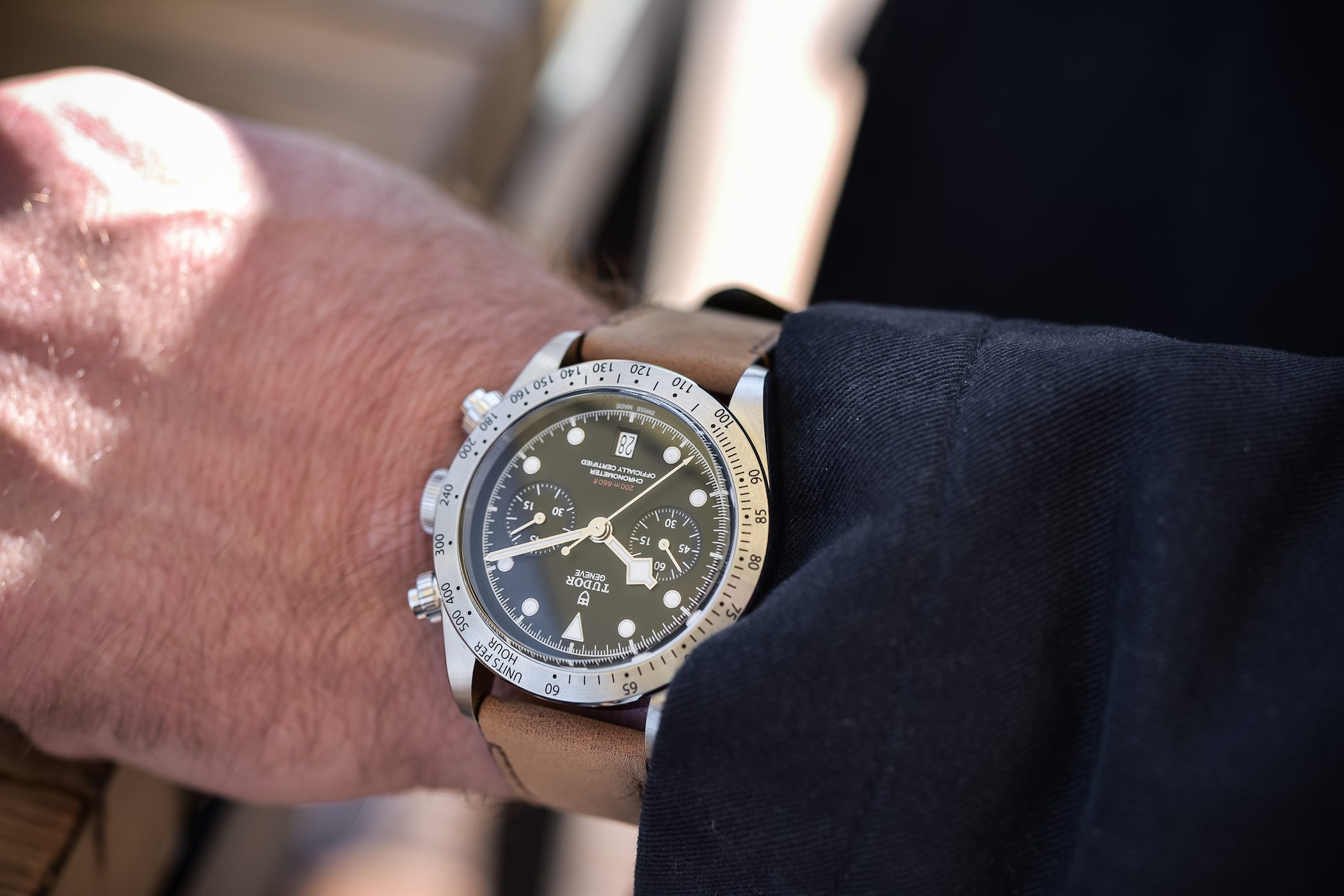 Review - Tudor Heritage Black Bay Chrono M79350