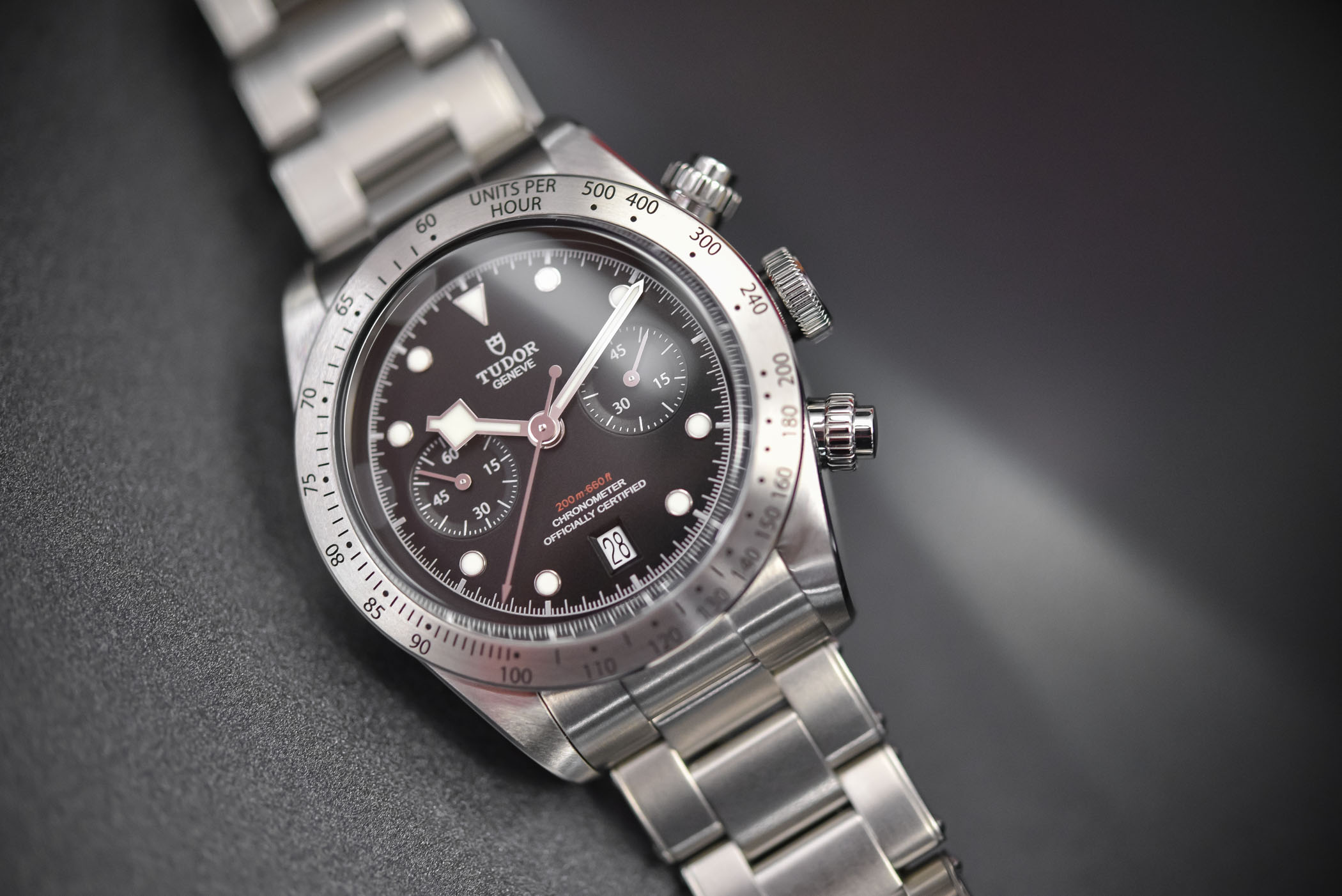 Review tudor heritage black bay chrono m79350 specs - Tudor dive watch price ...