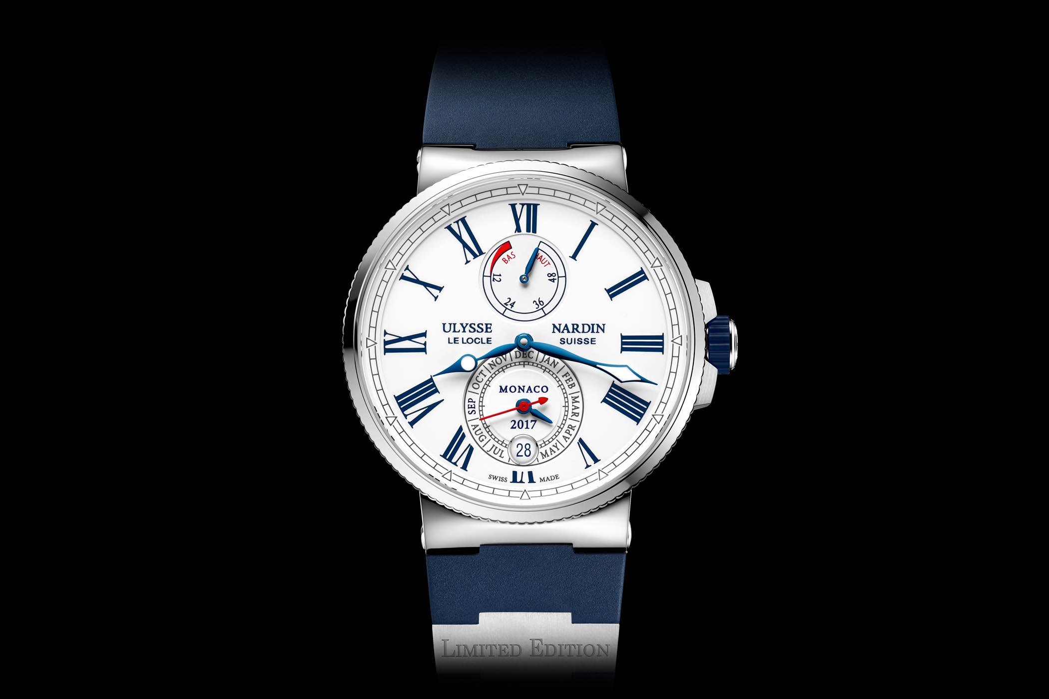 Ulysse Nardin Marine Chronometer Annual Calendar Monaco Edition