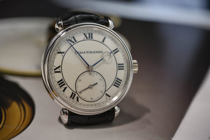 Urban Jurgensen reference 1142 Grenage dial