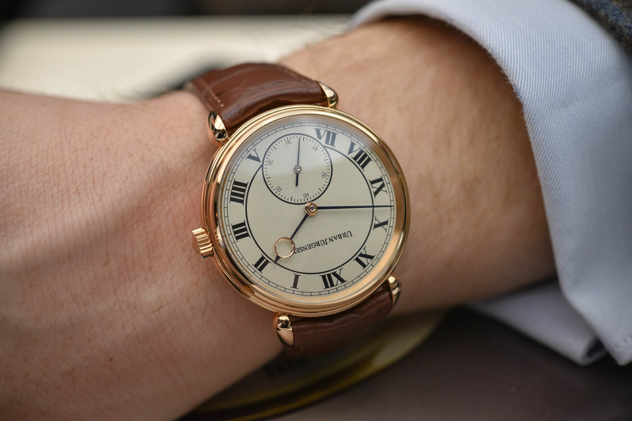 Hands-On – Urban Jürgensen Adds Handsome Grenage Dials to the Reference 1142