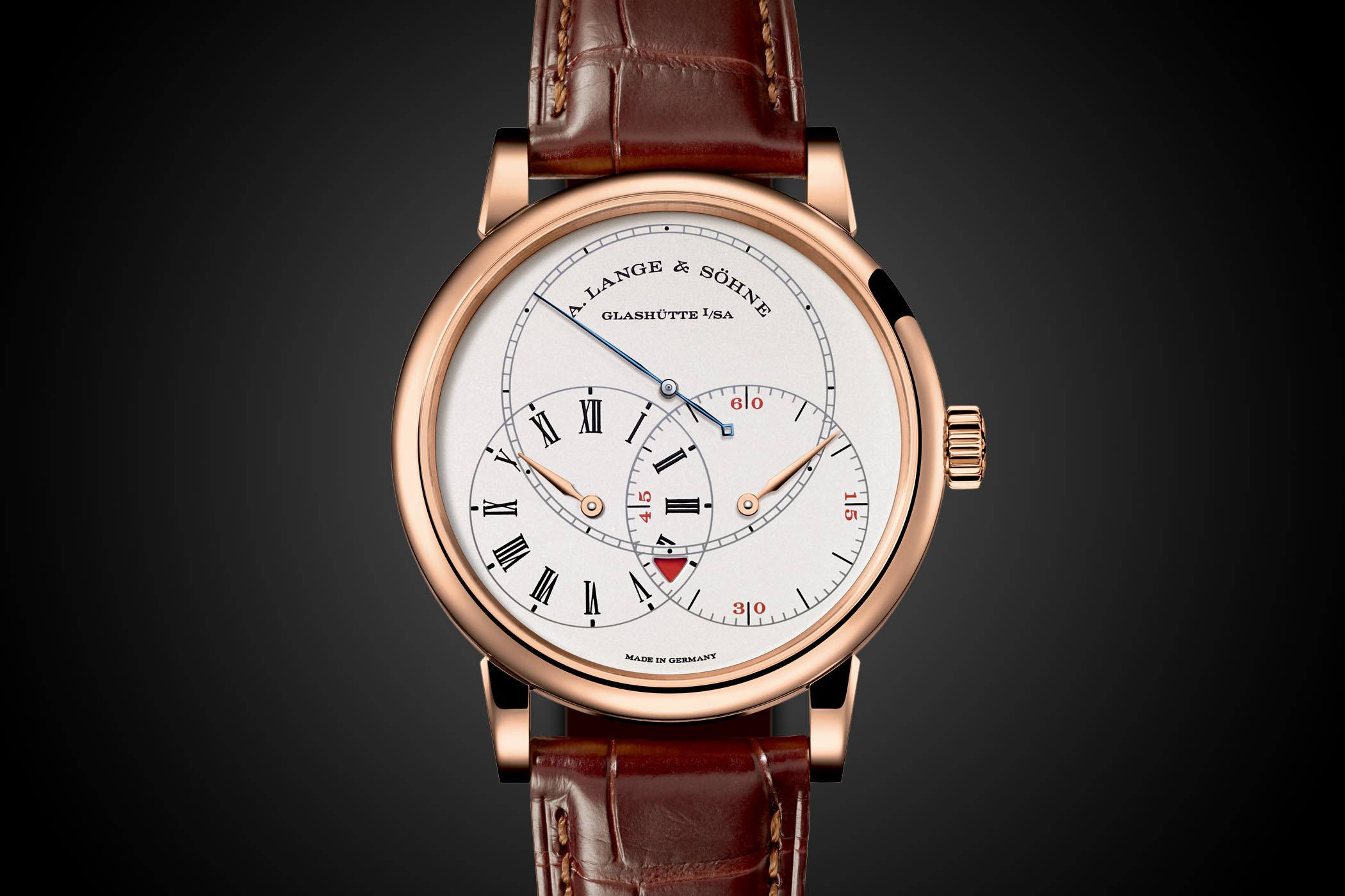 A. Lange and Sohne Richard Lange Jumping Seconds Pink Gold - 252.032