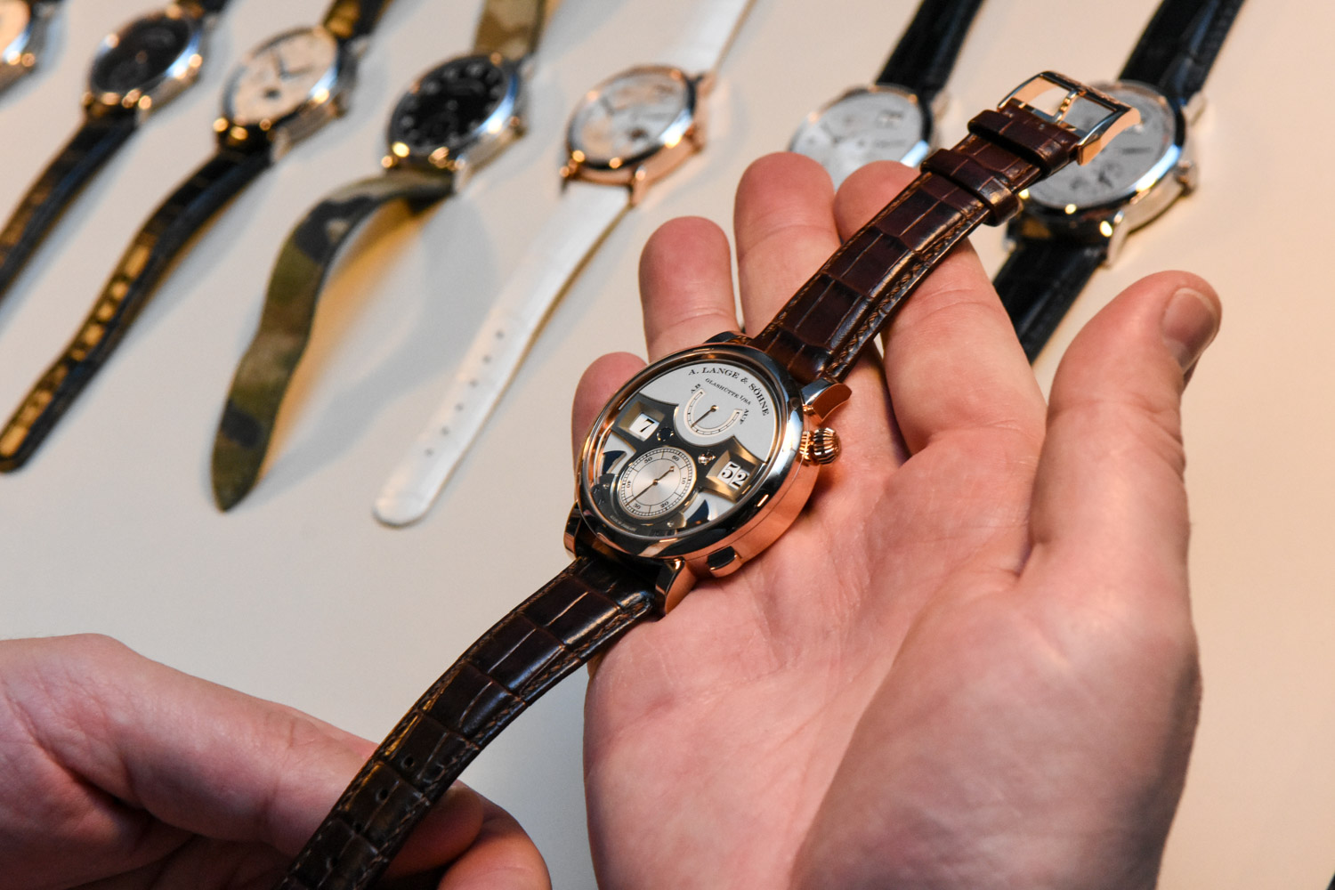 A. lange and Sohne X Monochrome-Watches event recap