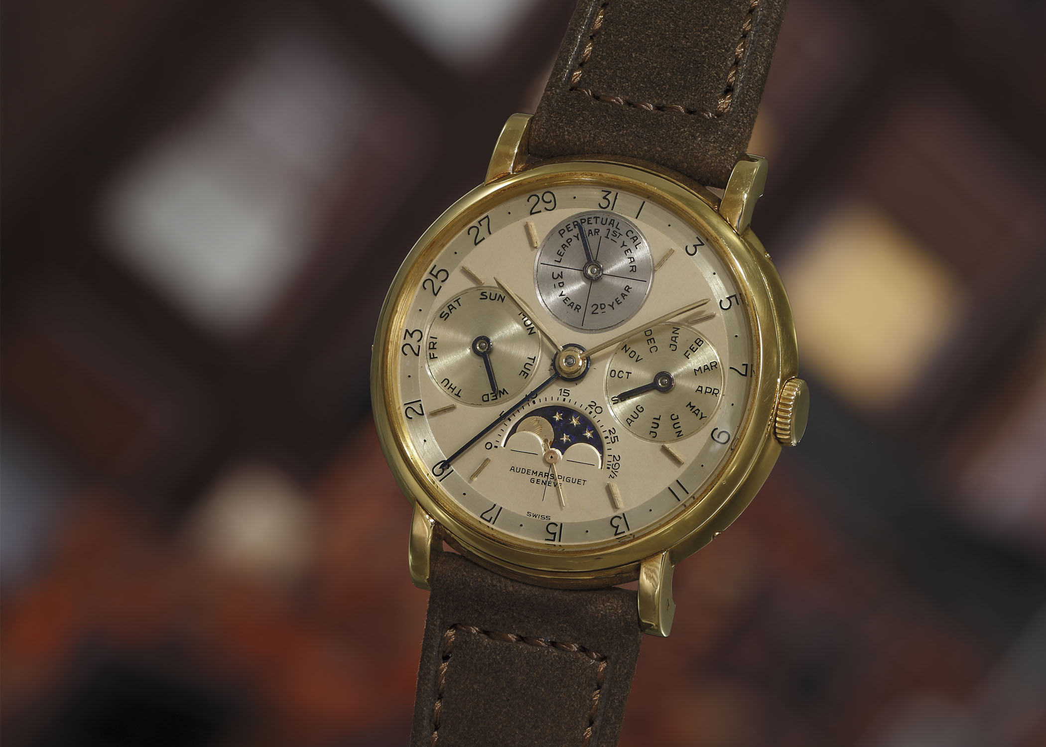 Audemars Piguet Perpetual Calendar 5516 - Phillips New York Auction