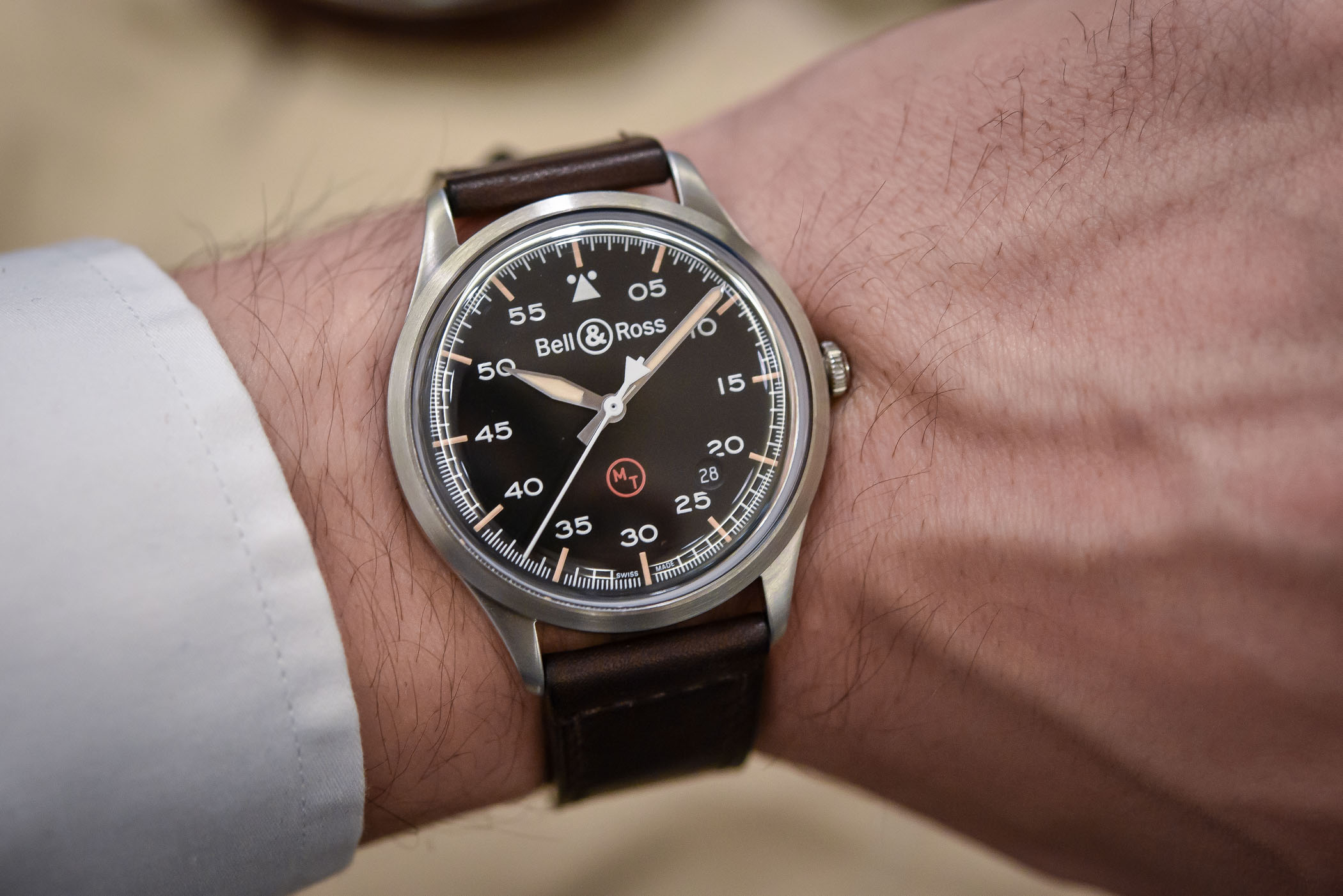 Back to Basics for Bell & Ross with the Vintage BR V1-92 Military