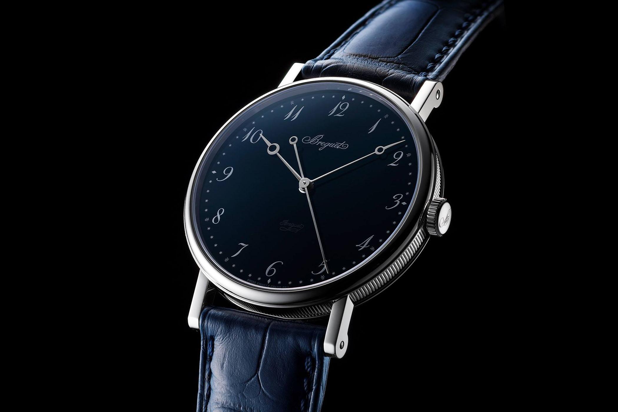 Breguet Classique 5175 Ginza Anniversary Blue Enamel