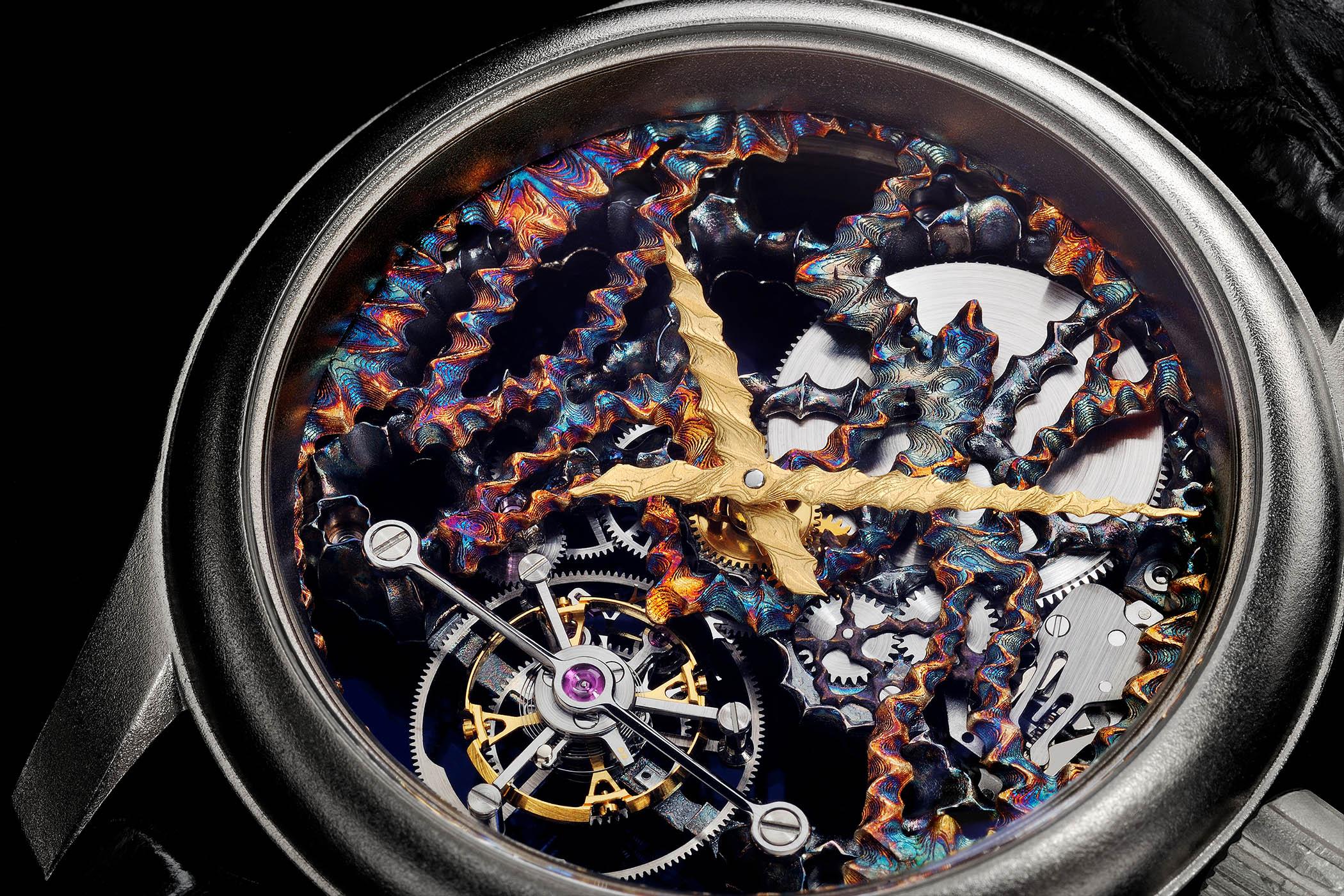 Kees Engelbarts Psychedelic Tourbillon Skeleton