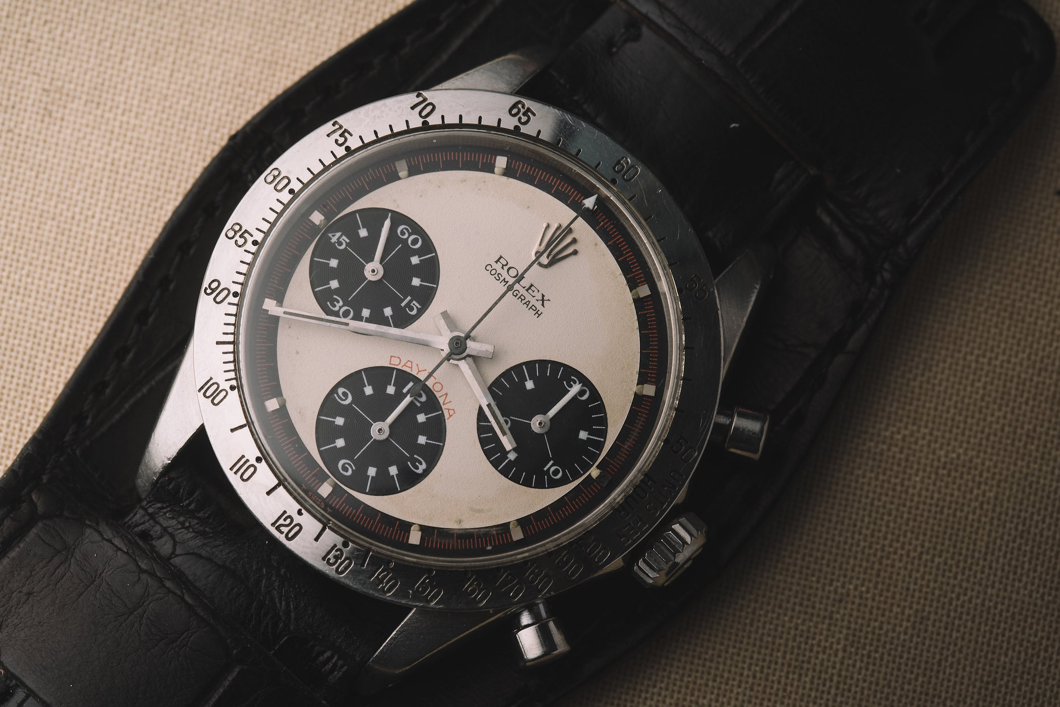 Paul Newman's Paul Newman Daytona Rolex - phillips Auction