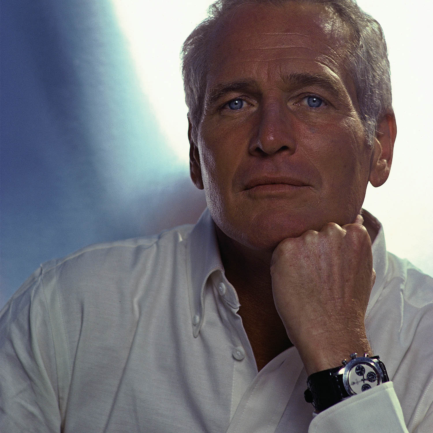 Paul Newman's Paul Newman Rolex Daytona - phillips New York Auction - Credits Douglas Kirkland - Corbis via Getty Images