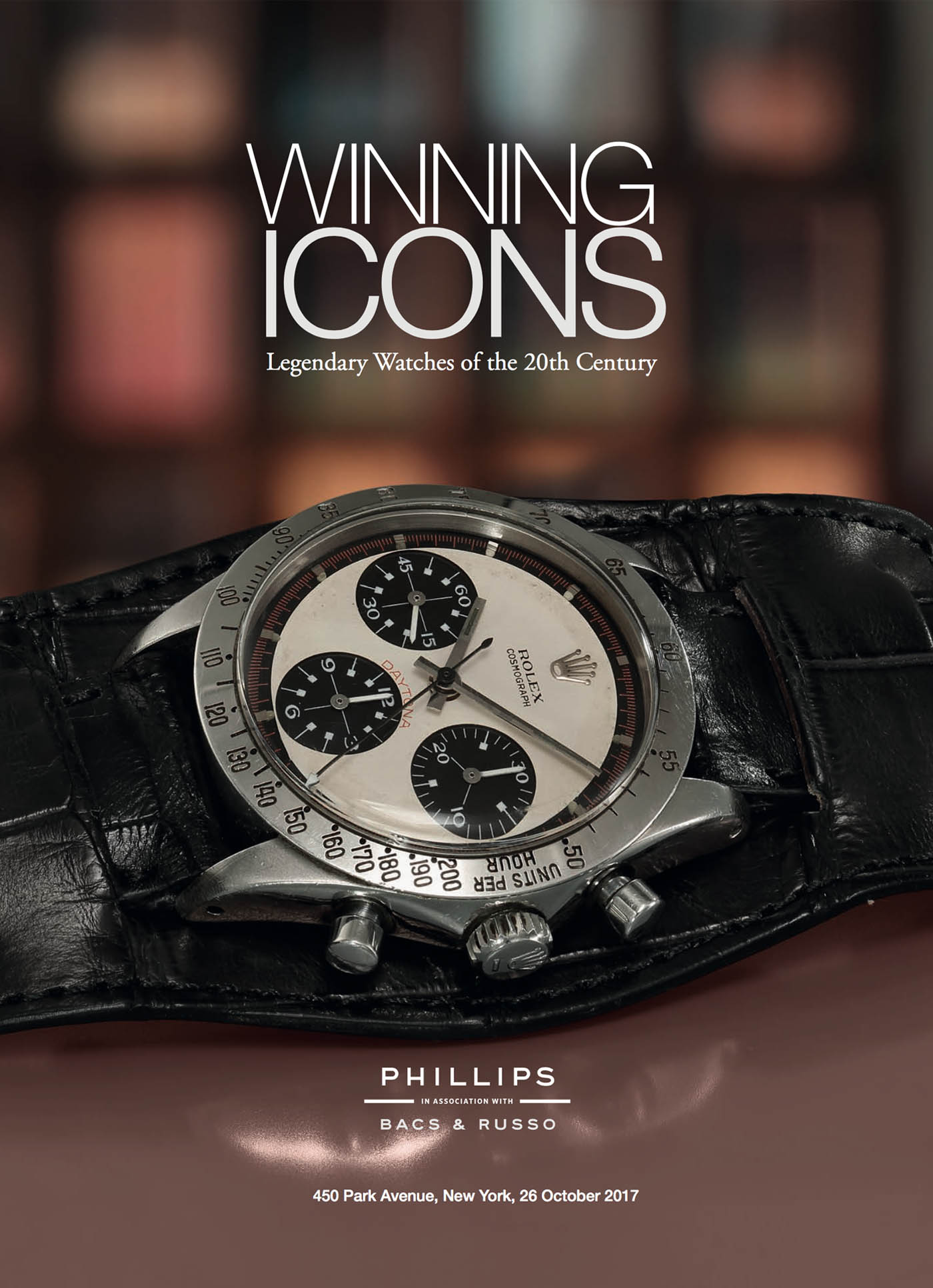 Phillips New York Auction Winning Icons