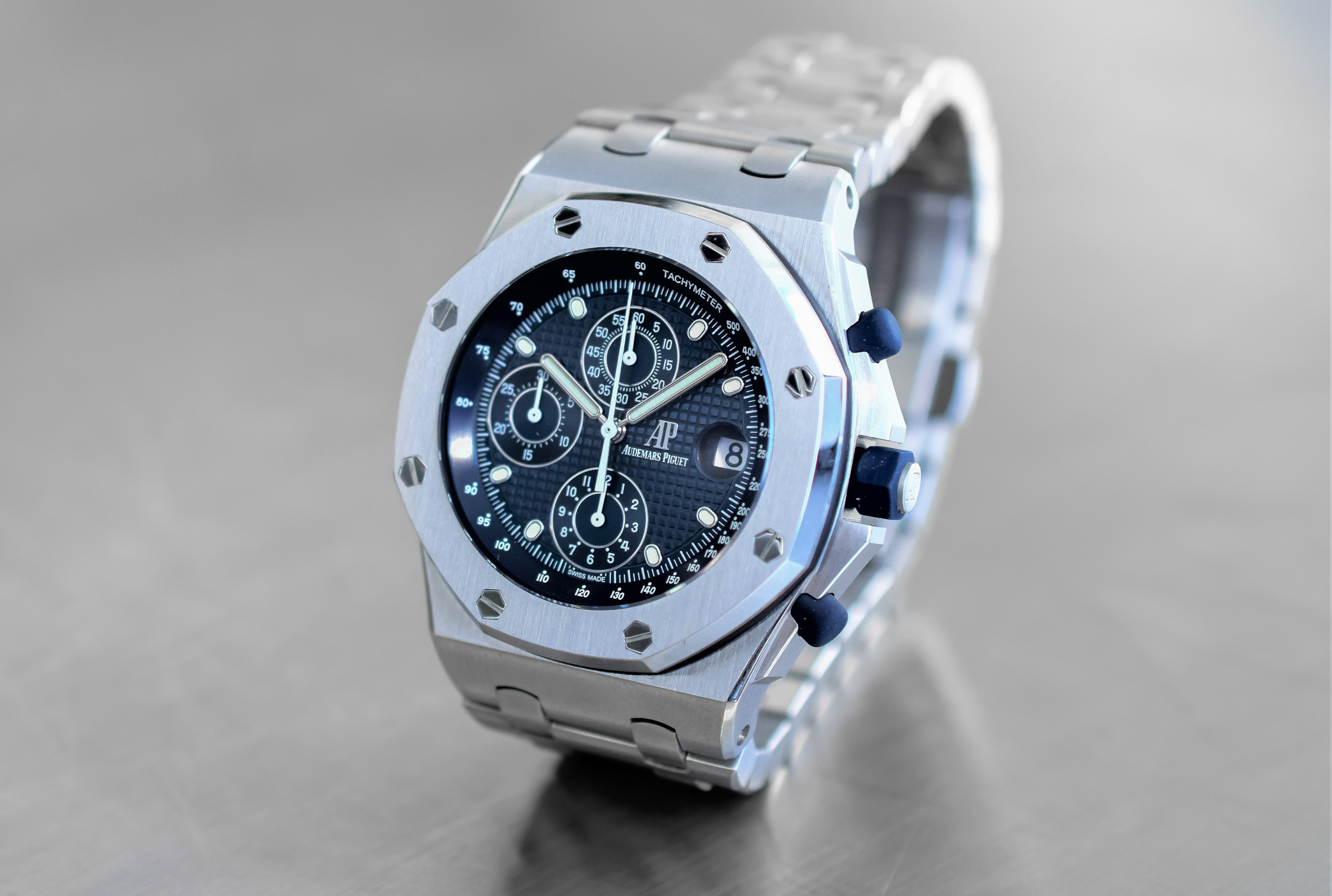 pre sihh 2018 audemars piguet royal oak offshore chronograph re