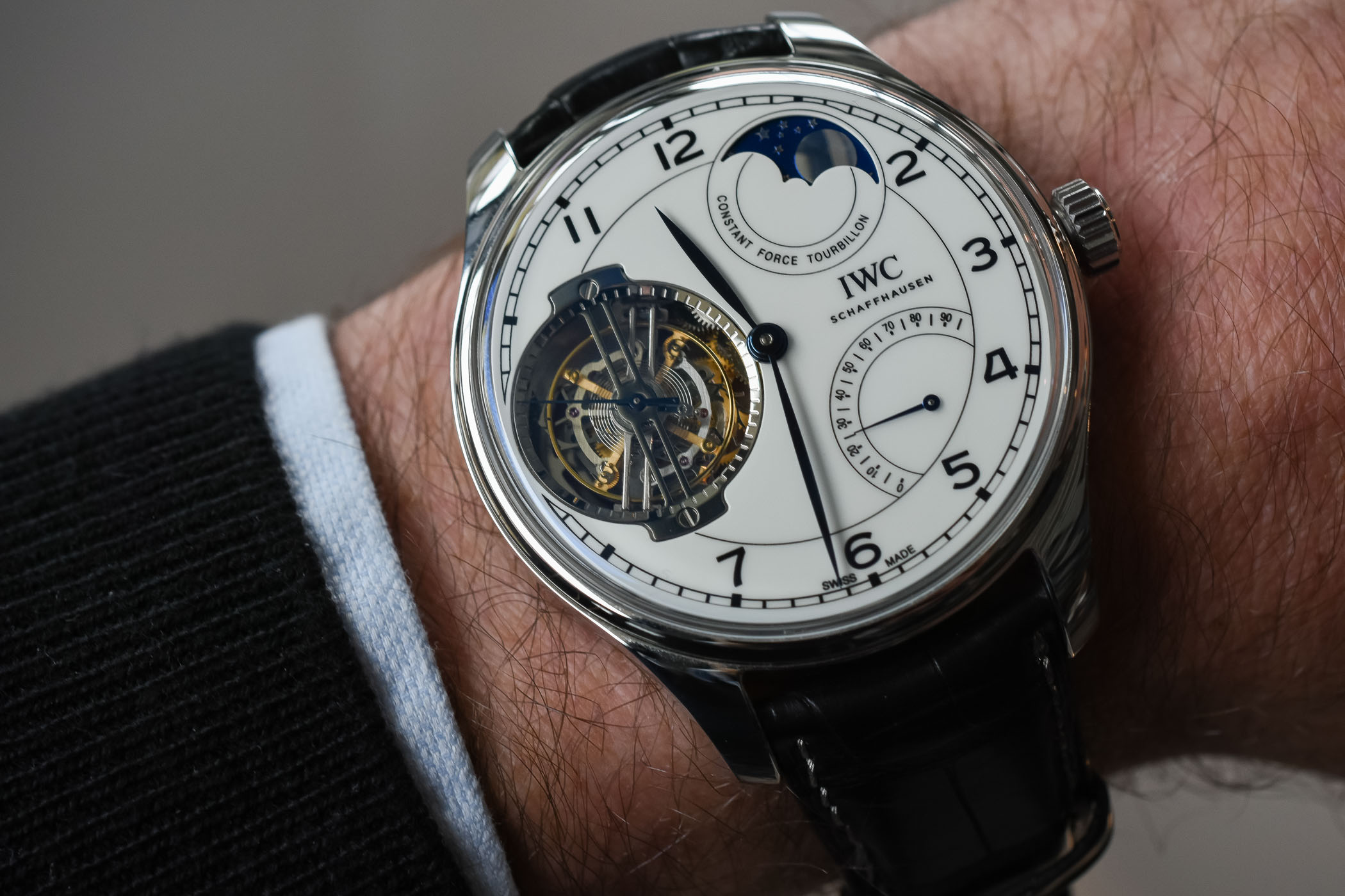 pre sihh 2018 hands on with the iwc portugieser constant