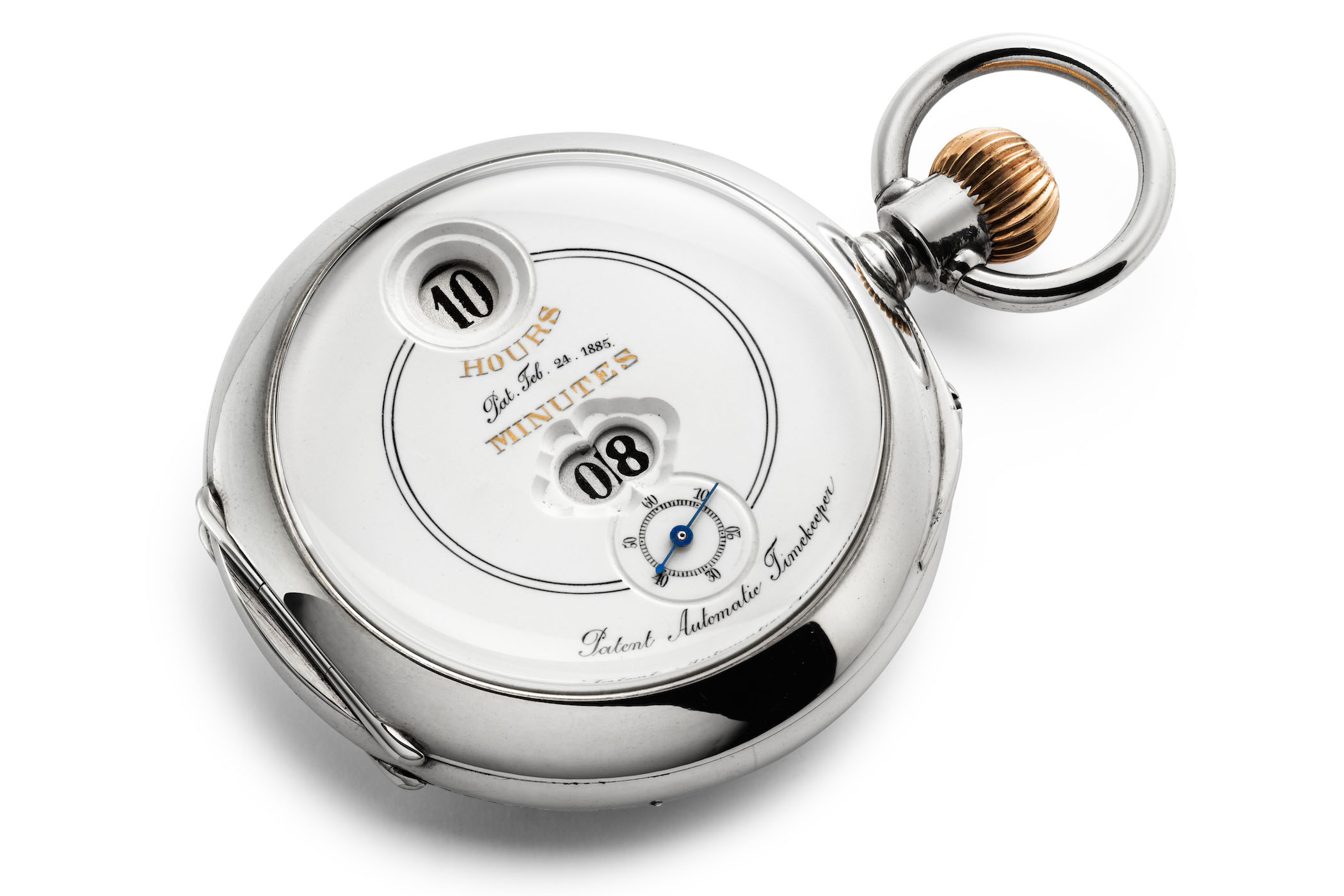 IWC pallweber pocket watch