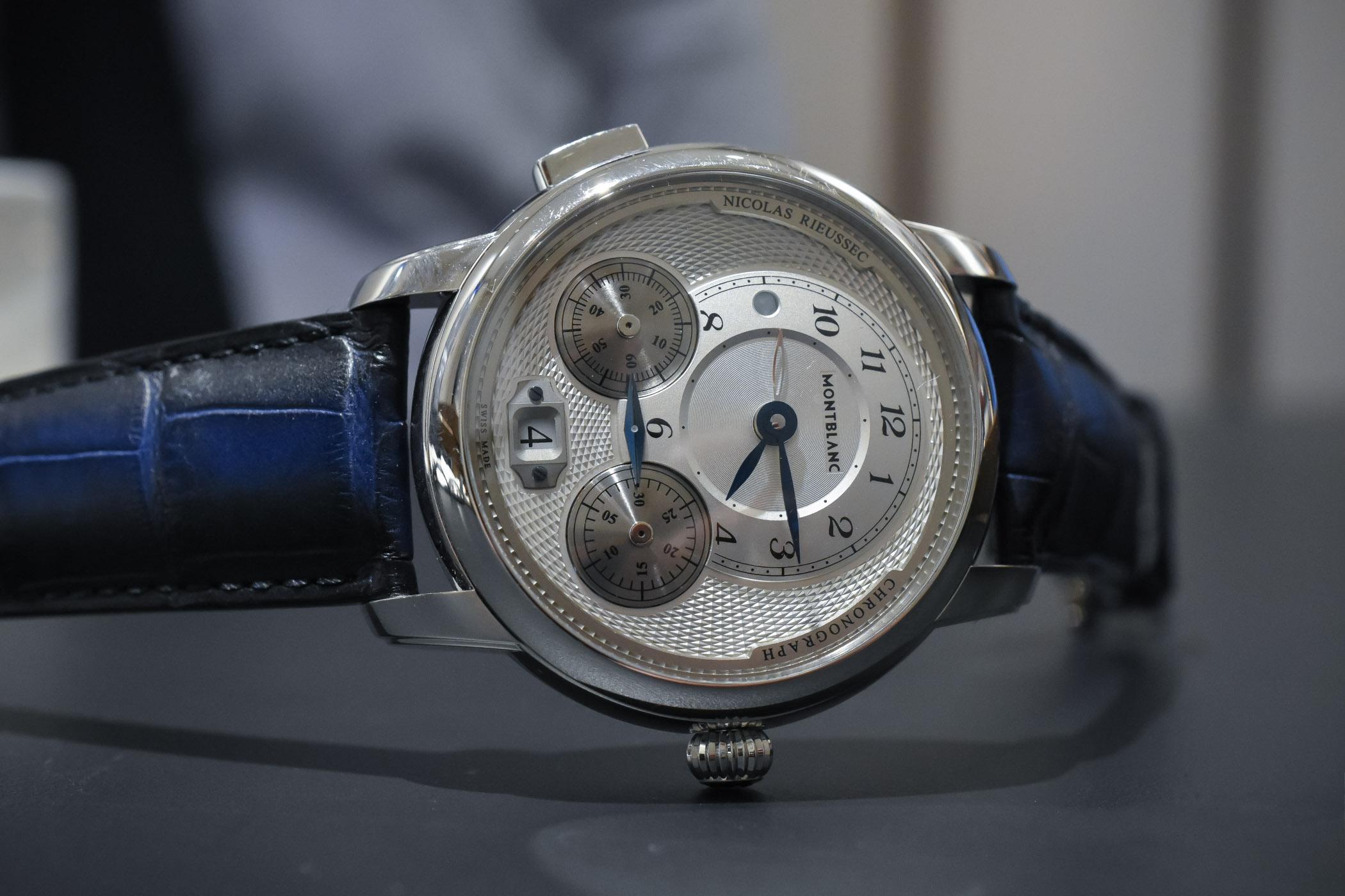Montblanc Star Legacy Nicolas Rieussec Chronograph Pre-SIHH 2018