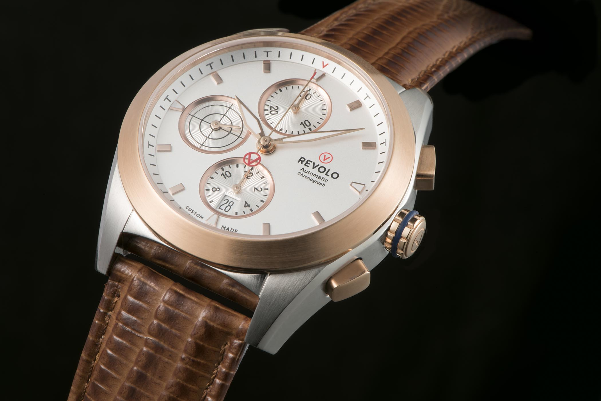 Revolo Chronograph Fully Customizable Watches