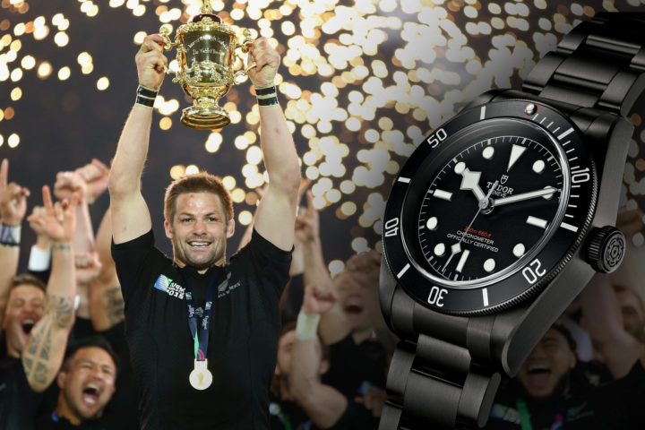 TUDOR Announces Agreement With World Rugby borntodare - Black Bay Dark