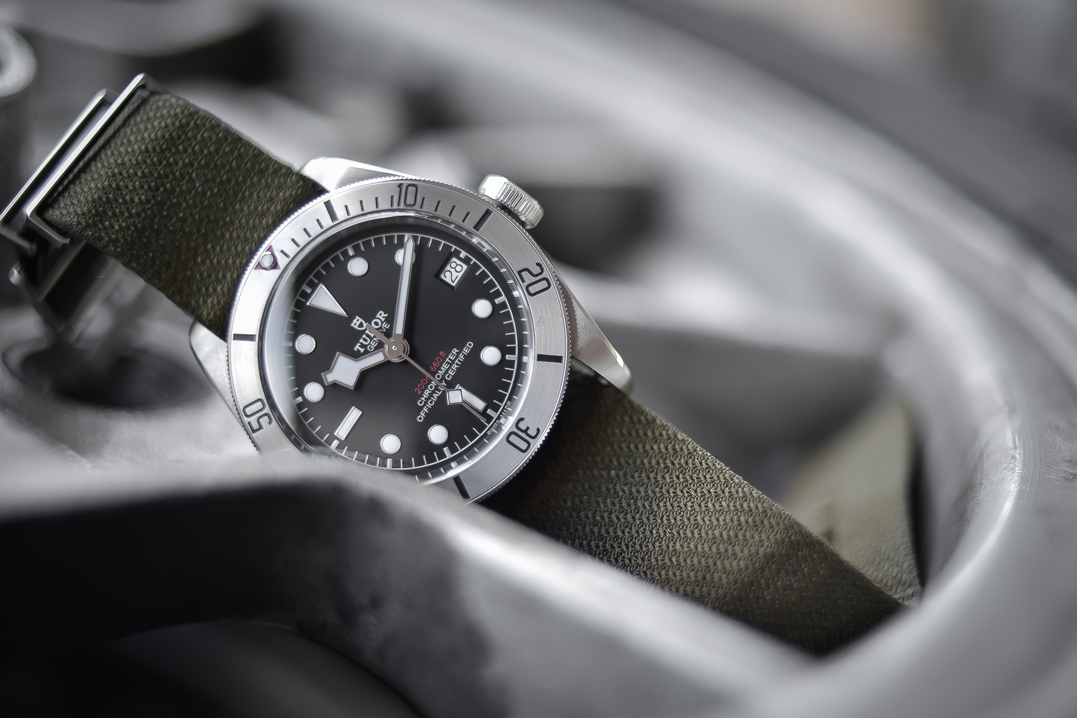 Tudor Heritage Black Bay Steel 79730