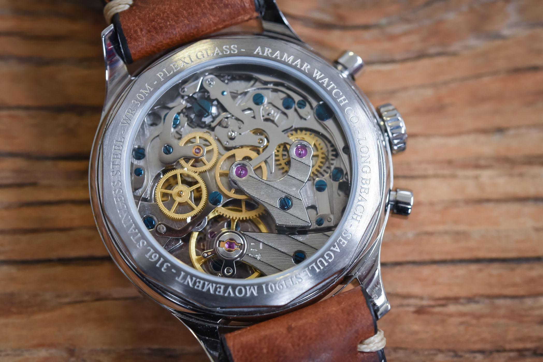 Aramar Long Beach Racing Chronograph - Value Proposition