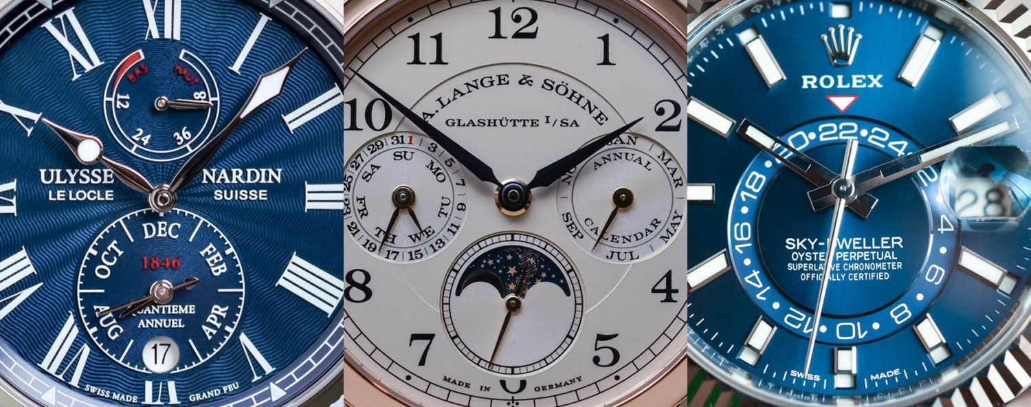 Buying Guide 2017 Annual Calendar Watches